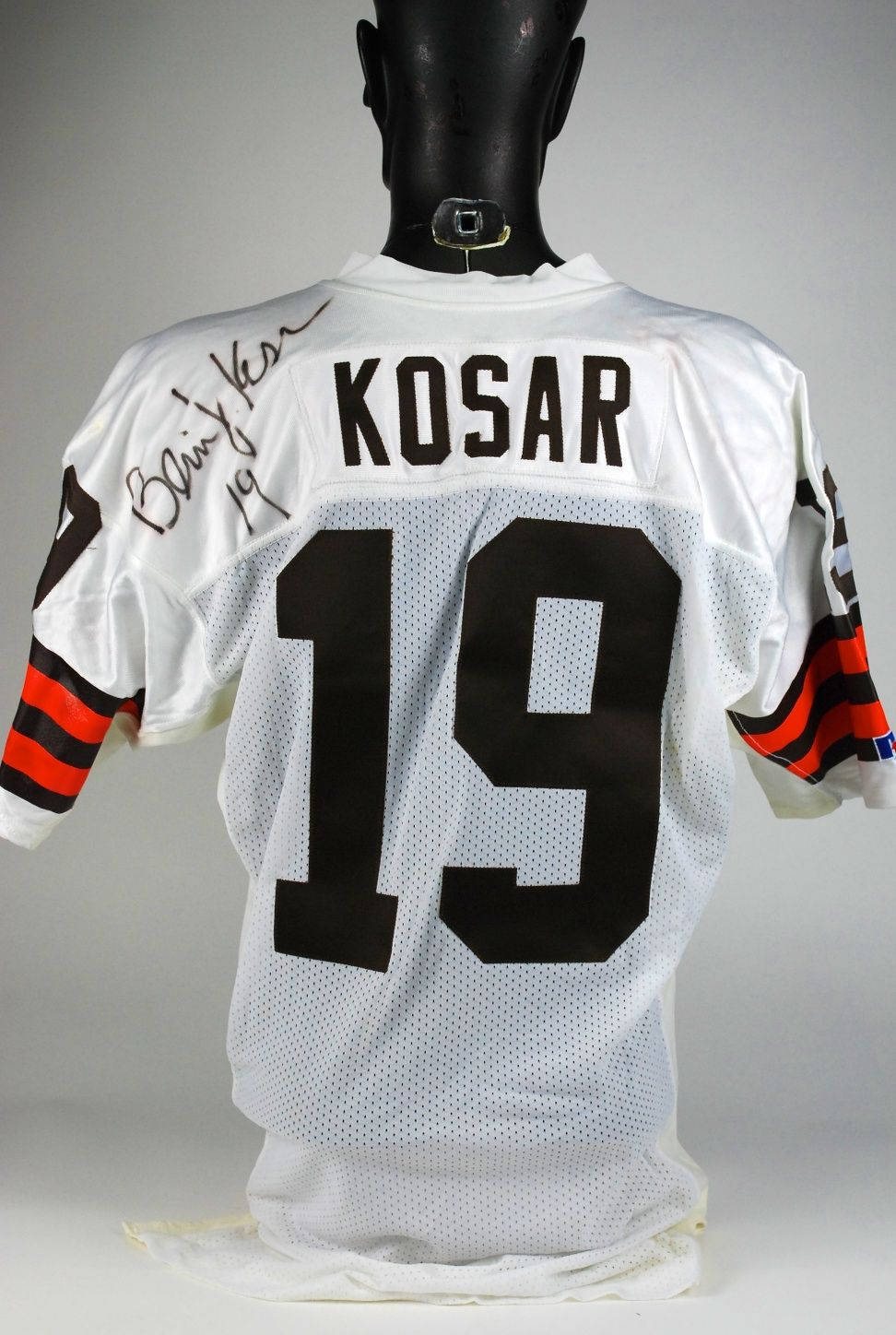 timeless design ce5d6 64303 Lot Detail - Bernie Kosar Game Used Cleveland Browns Jersey ...