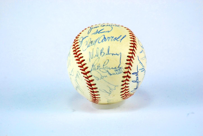 Lot Detail Cincinnati Reds 1970 Team Signed Baseball