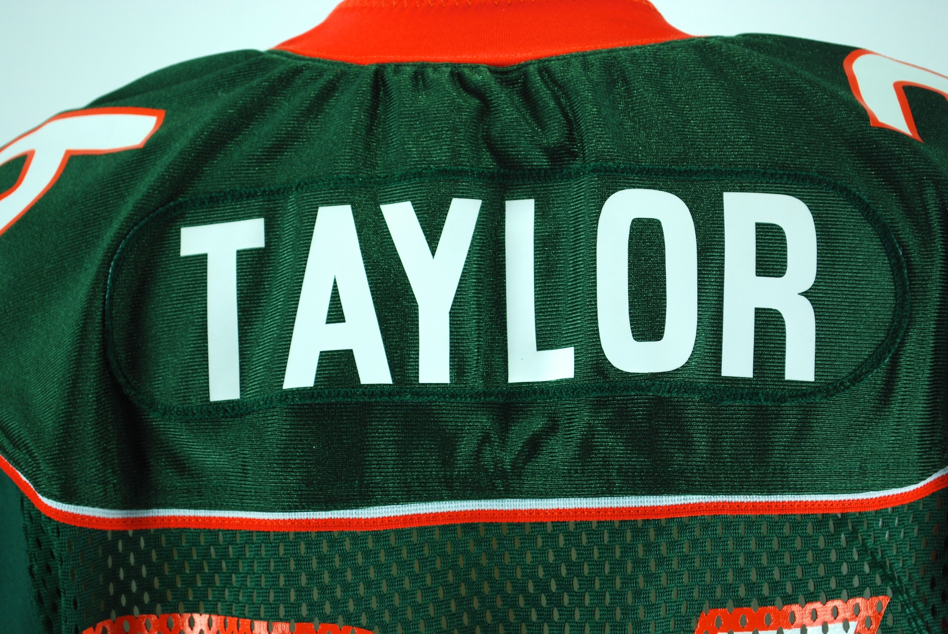the best attitude 15220 0944a Lot Detail - Sean Taylor Game Used Miami Hurricane Jersey GU 8.5