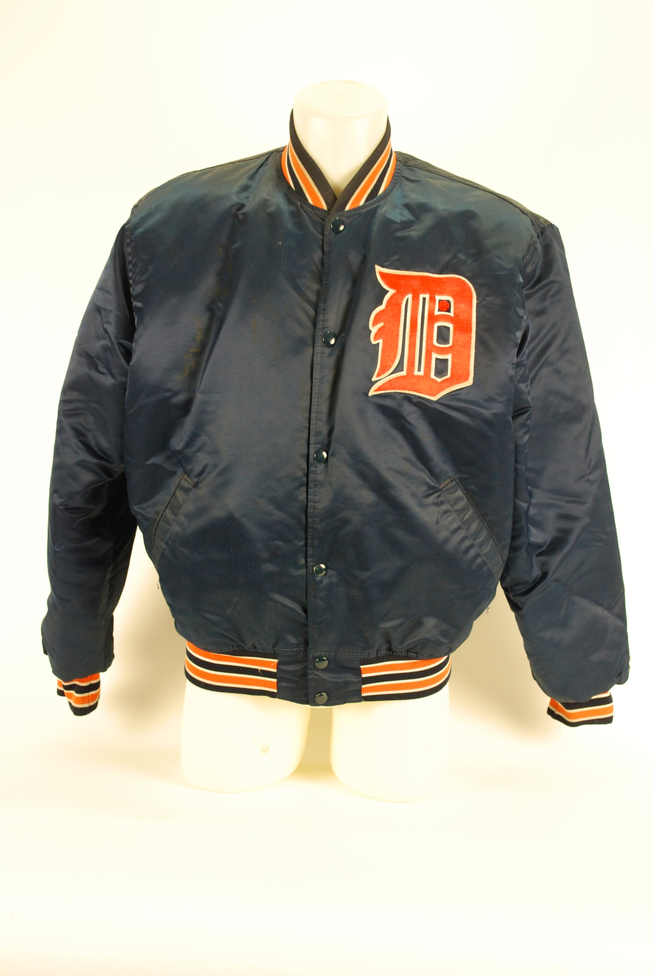 Lot Detail - Jack Morris Game Used Detroit Tigers Dugout Jacket