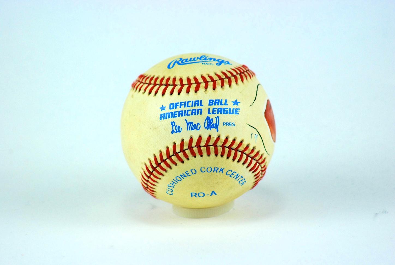 7f135a081c3 Lot Detail - Norm Cash Autographed Baseball