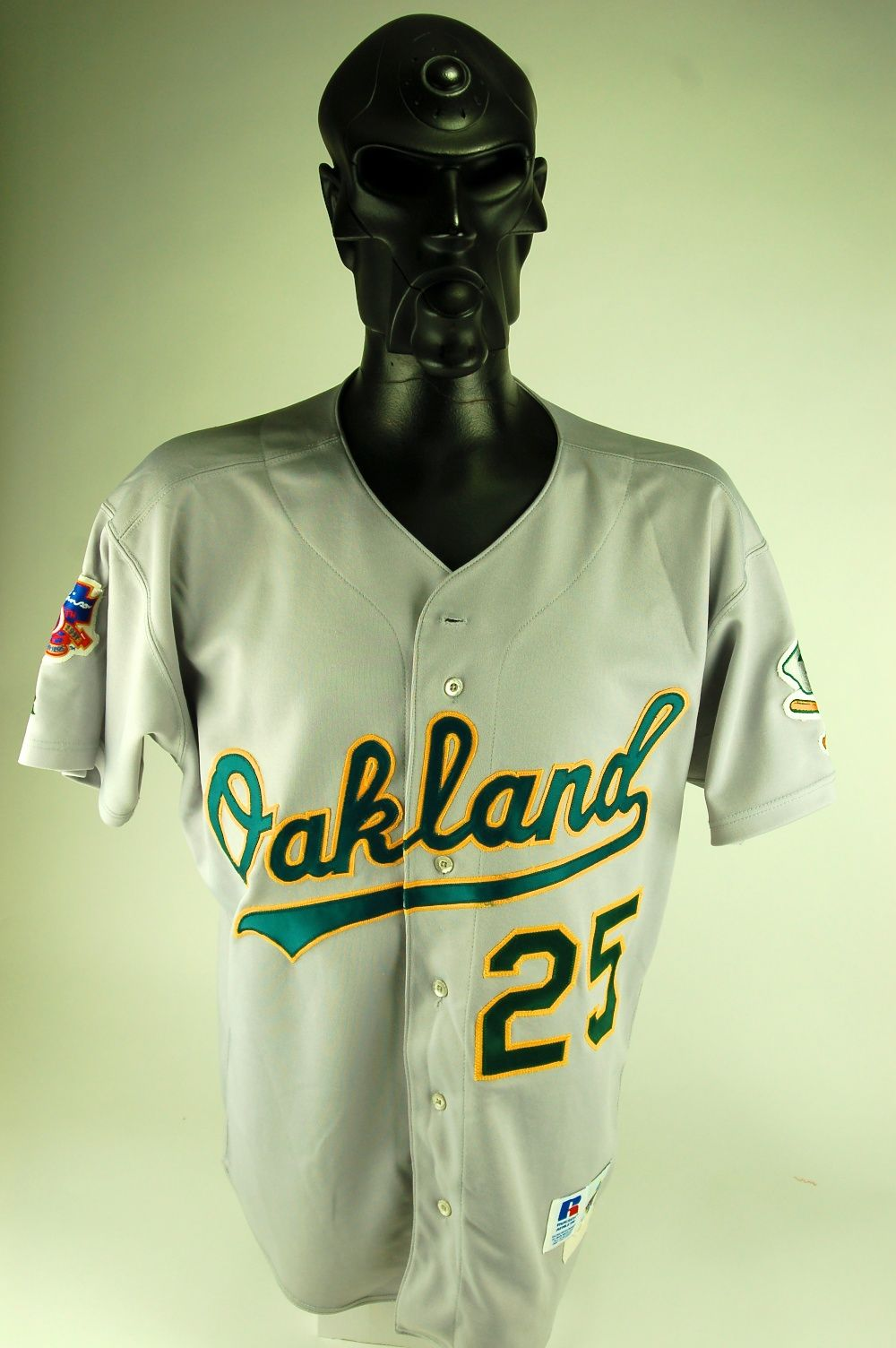 half off ea89d b6cb1 Lot Detail - Mark McGwire 1997 Oakland A's Game Used Jersey ...