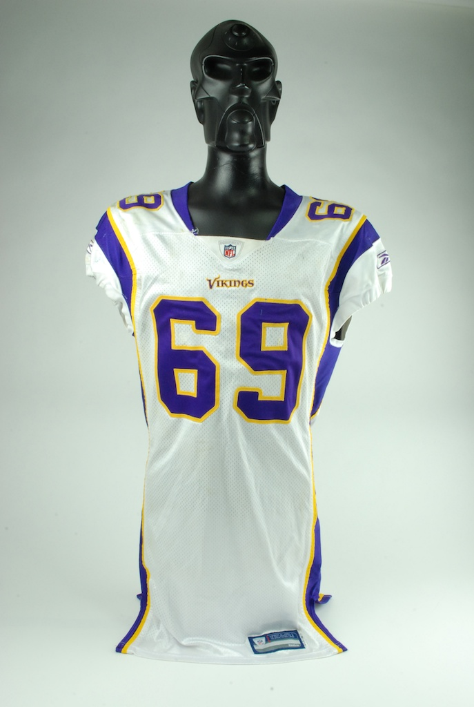 competitive price 0e28f 49909 Lot Detail - Jared Allen 2008 Game Used Minnesota Vikings ...