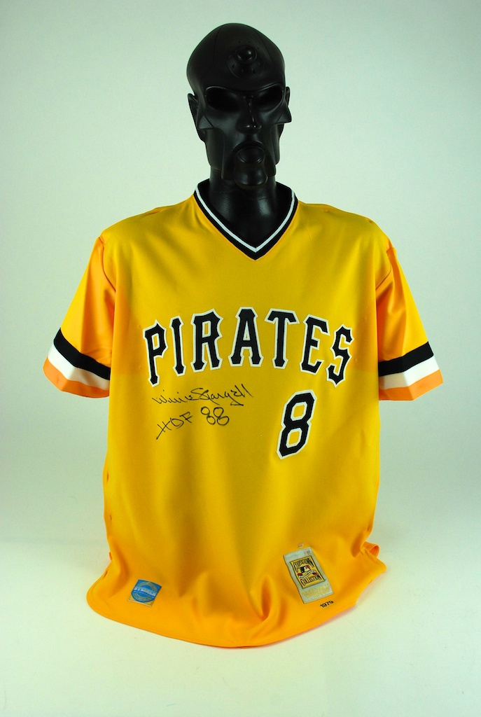 the latest dc27e ebec6 Lot Detail - Willie Stargell Autographed Jersey