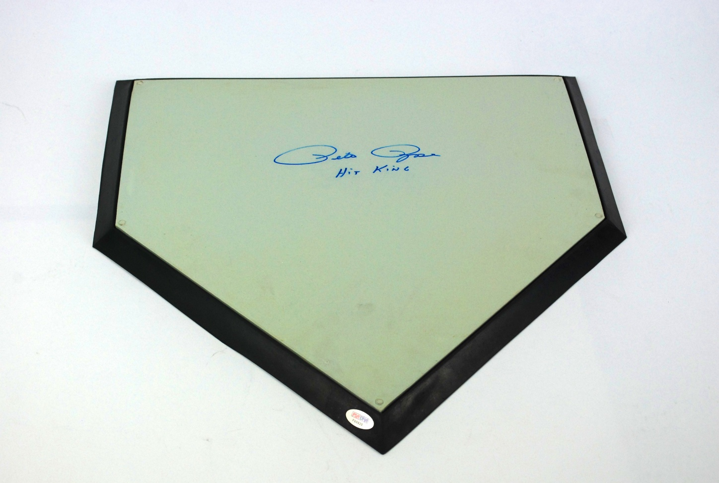 Astonishing Lot Detail Pete Rose Autographed Home Plate Download Free Architecture Designs Rallybritishbridgeorg