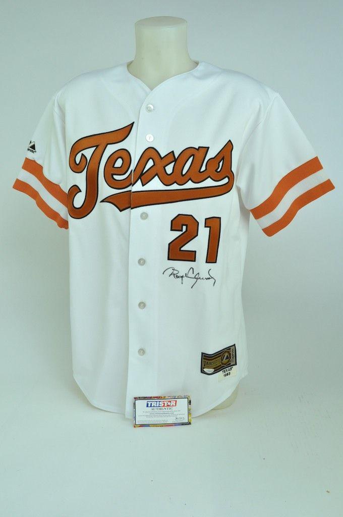 promo code 6177c 30806 Lot Detail - Roger Clemens Texas Longhorns 1983 Style ...