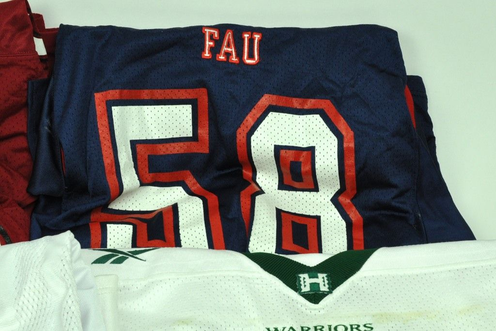 cd1ccd01b Lot Detail - Lot of 9 Game Used College Football Jerseys