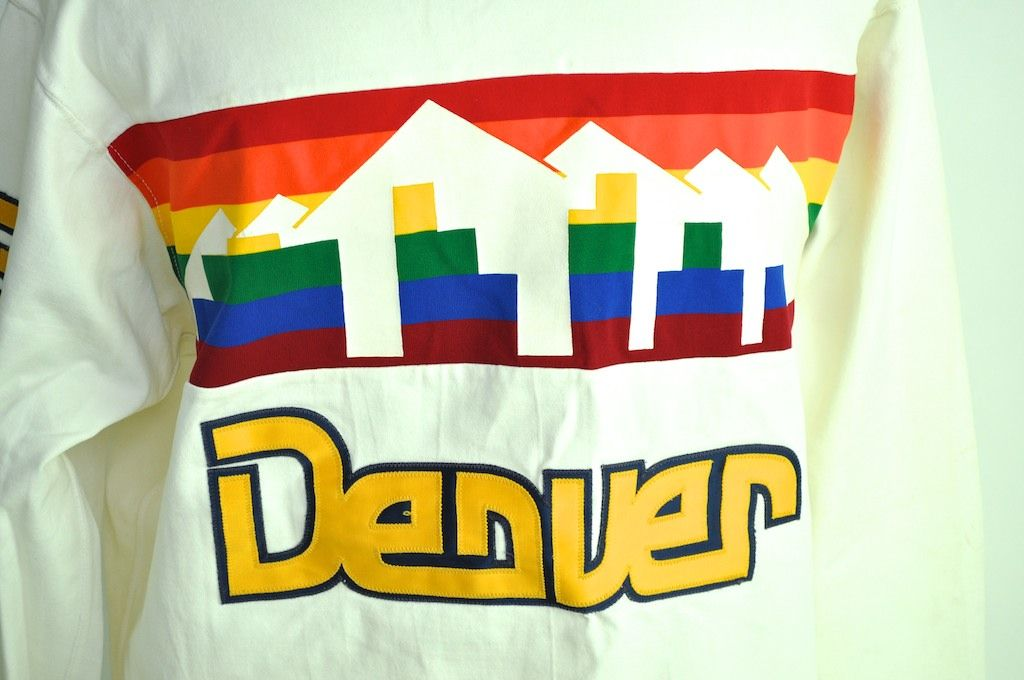 the best attitude 81447 09c0f Lot Detail - Calvin Natt Denver Nuggets Game Used ...