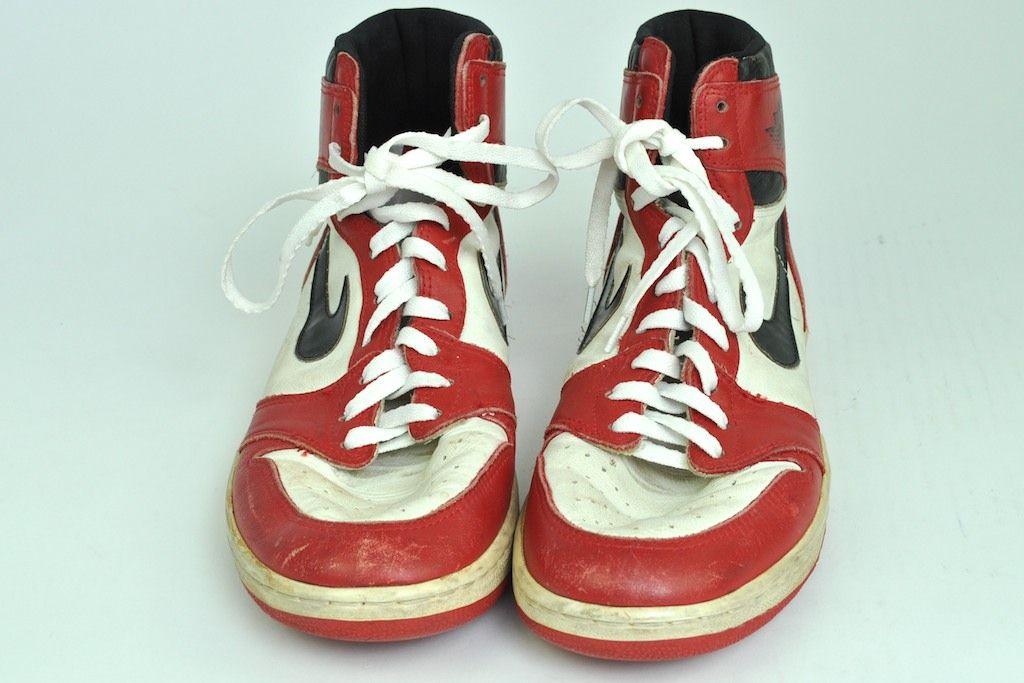 Lot Detail - Michael Jordan Game Used 1985 Rookie Era Shoes