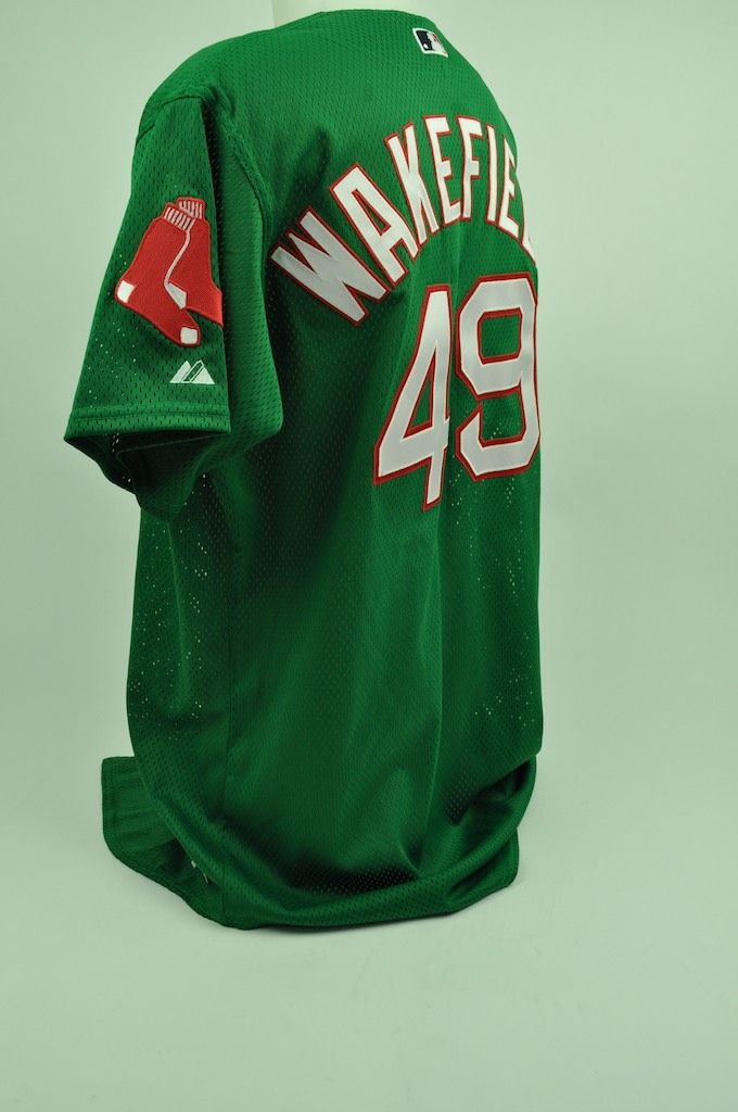 f94e6f9ee79 Lot Detail - Tim Wakefield 2007 Game Used Jersey GU 9.5