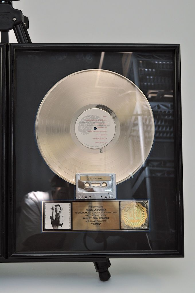 Lot Detail - Prince And The Revolution Gold & Platinum Framed Records