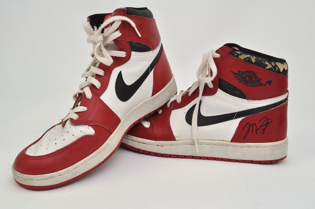 Michael Jordan c. 1985-86 Game Used Shoes ...