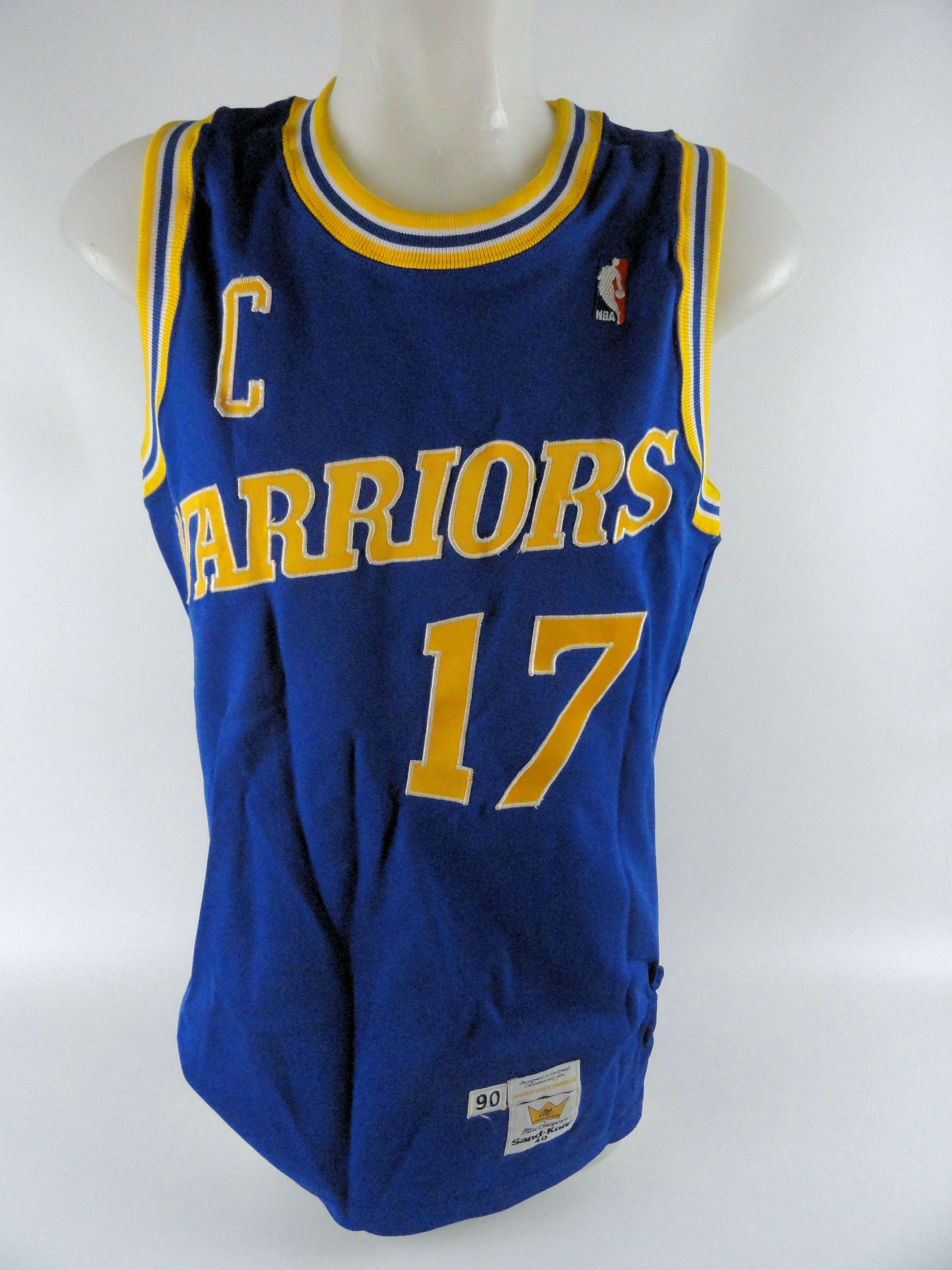 size 40 3a6b8 9c7b0 Lot Detail - Chris Mullin 1990 Golden State Warriors ...