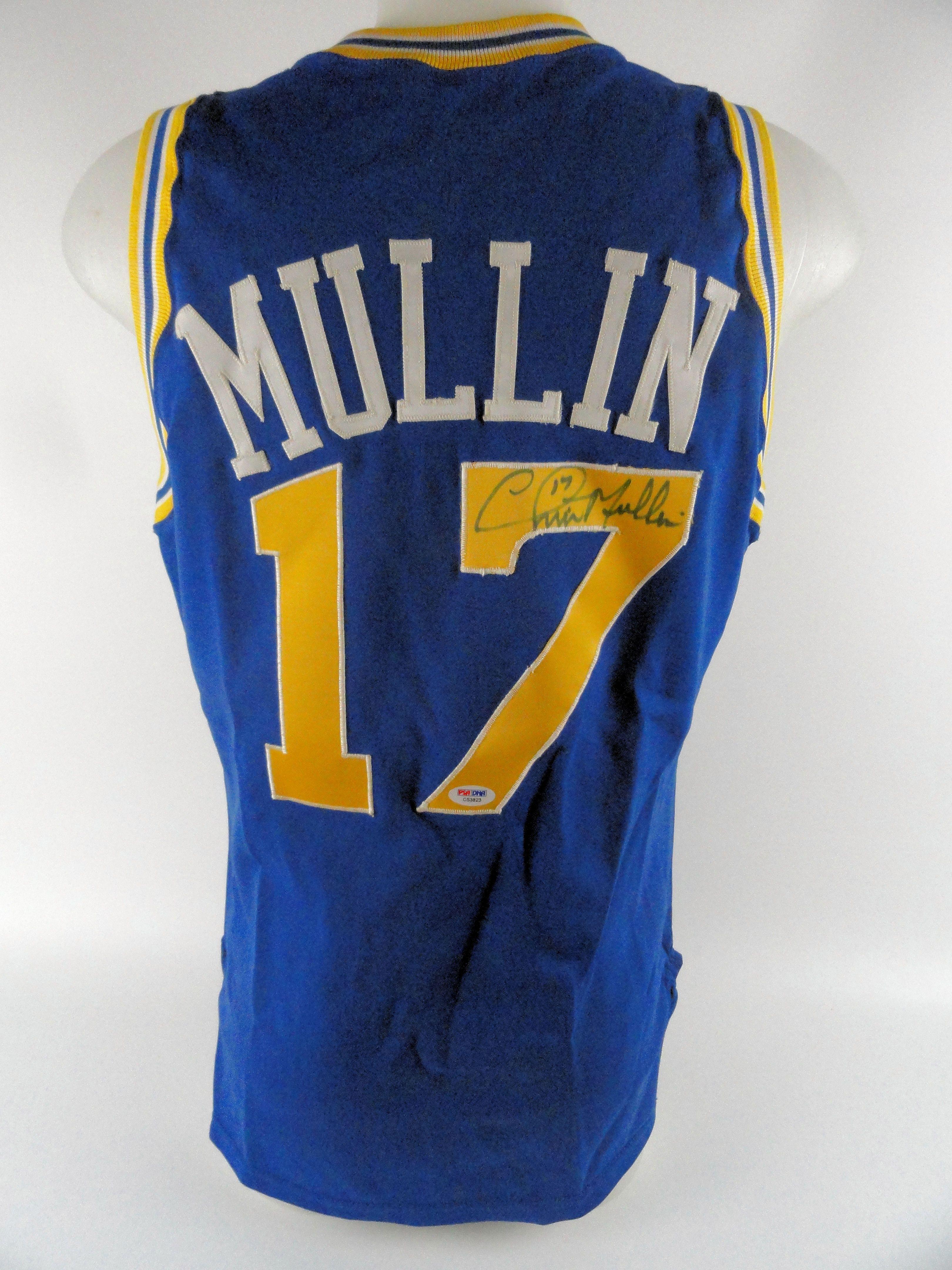 size 40 9b260 da05d Lot Detail - Chris Mullin 1990 Golden State Warriors ...