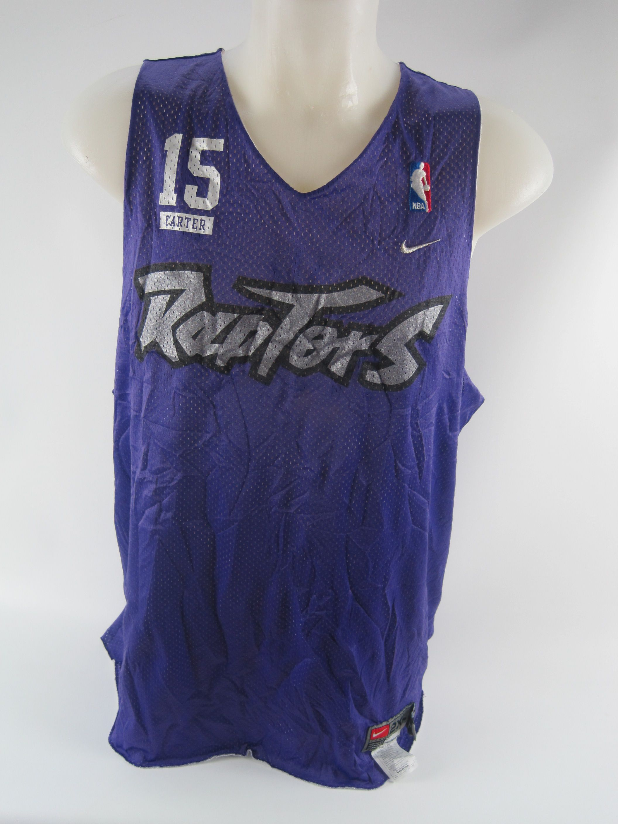 uk availability d6d5f 43a34 Lot Detail - Toronto Raptors Warm Up Jersey Attributed to ...