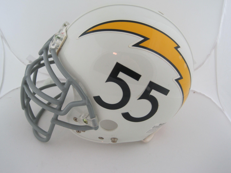 official photos 0109a e63cd Lot Detail - Junior Seau Autographed San Diego Chargers ...