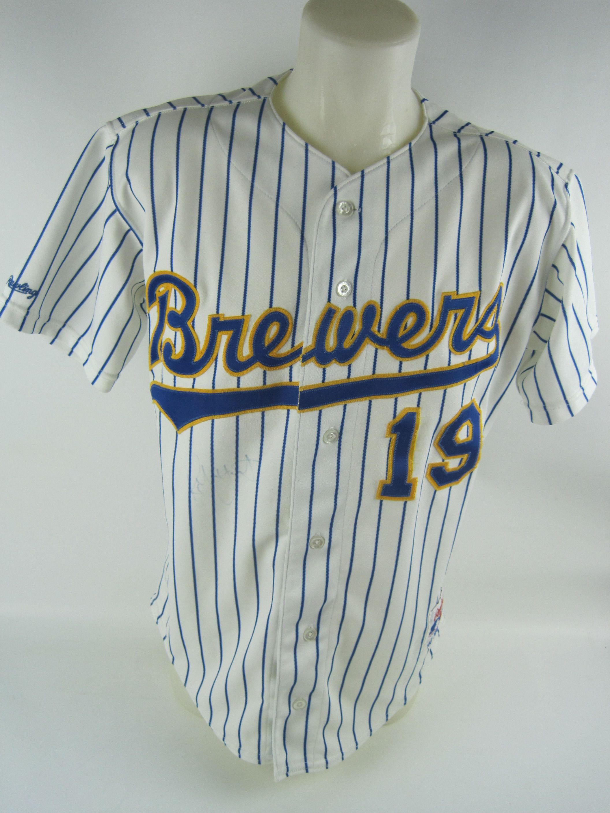 finest selection f201f a14f7 Lot Detail - Robin Yount 1990 Milwaukee Brewers Professional ...