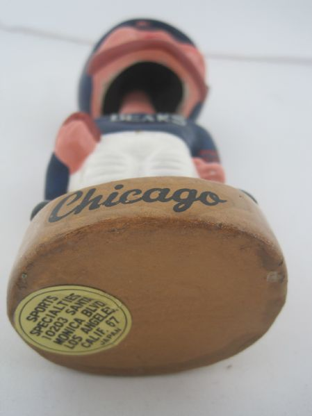 Chicago Bears Vintage 1960's NFL Bobblehead Nodder