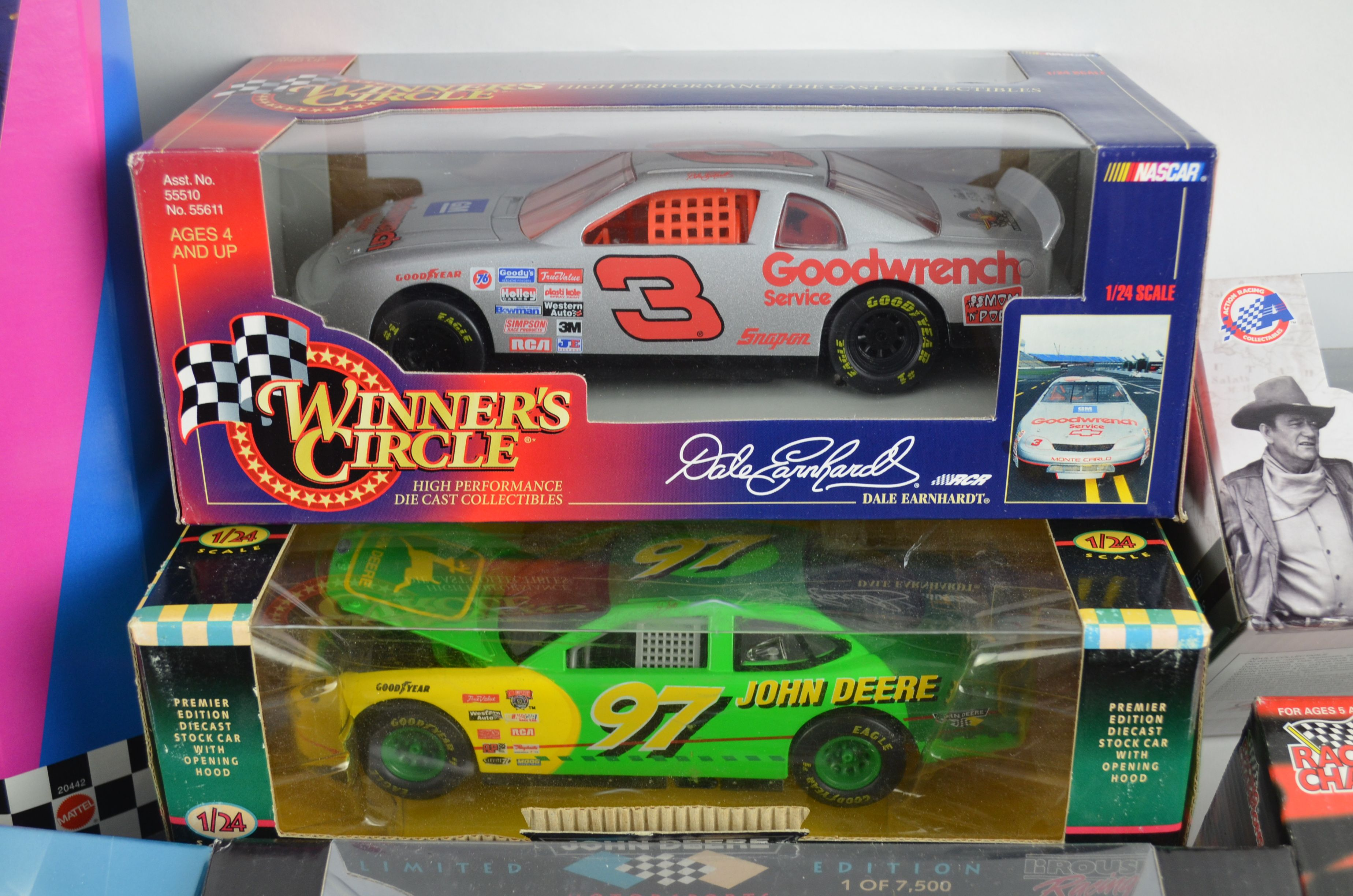 Car Auctions Mn >> Lot Detail - NASCAR Collection of Large Scale Die Cast Cars