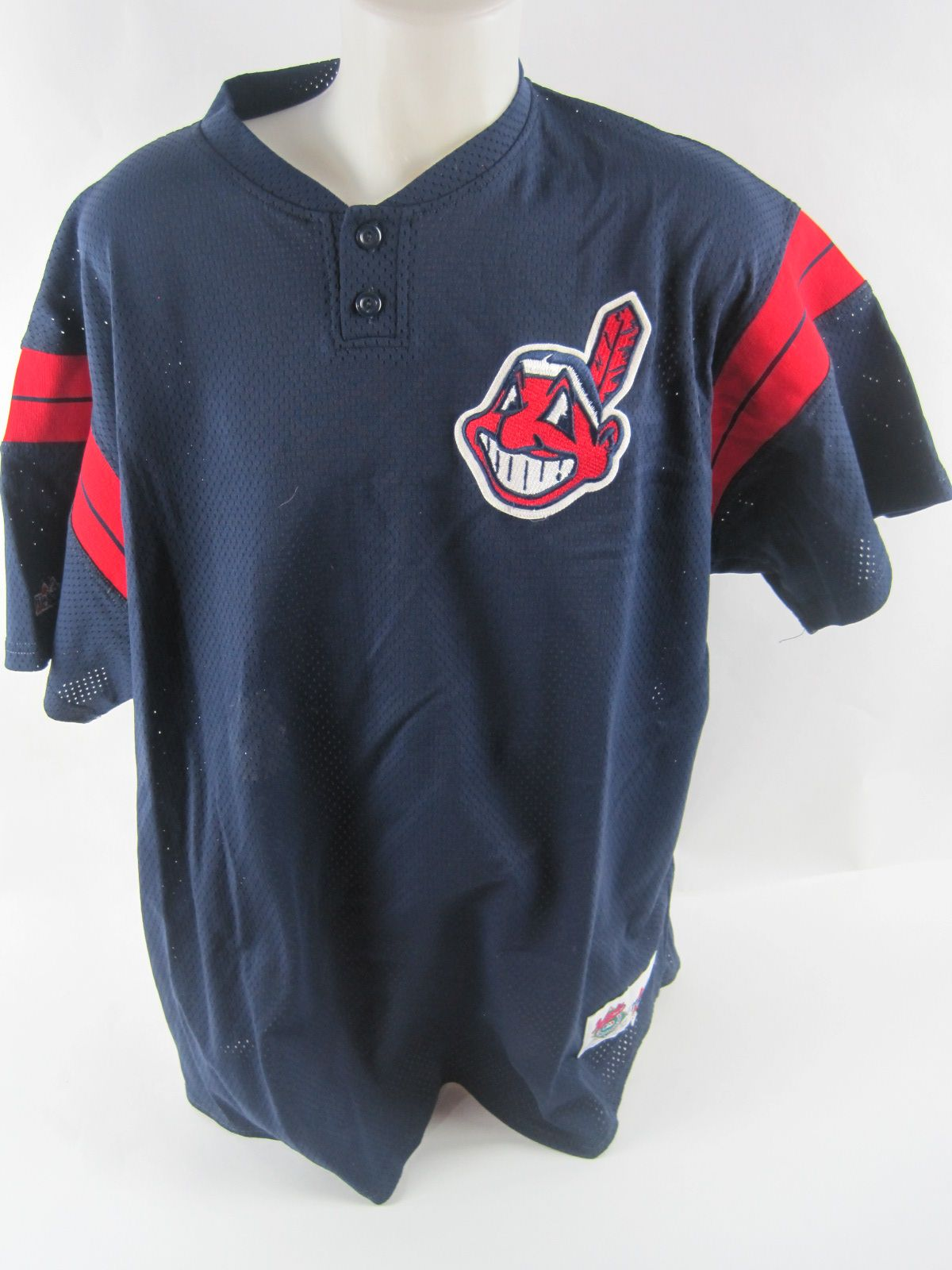 size 40 4441e 65417 cleveland indians batting practice jersey