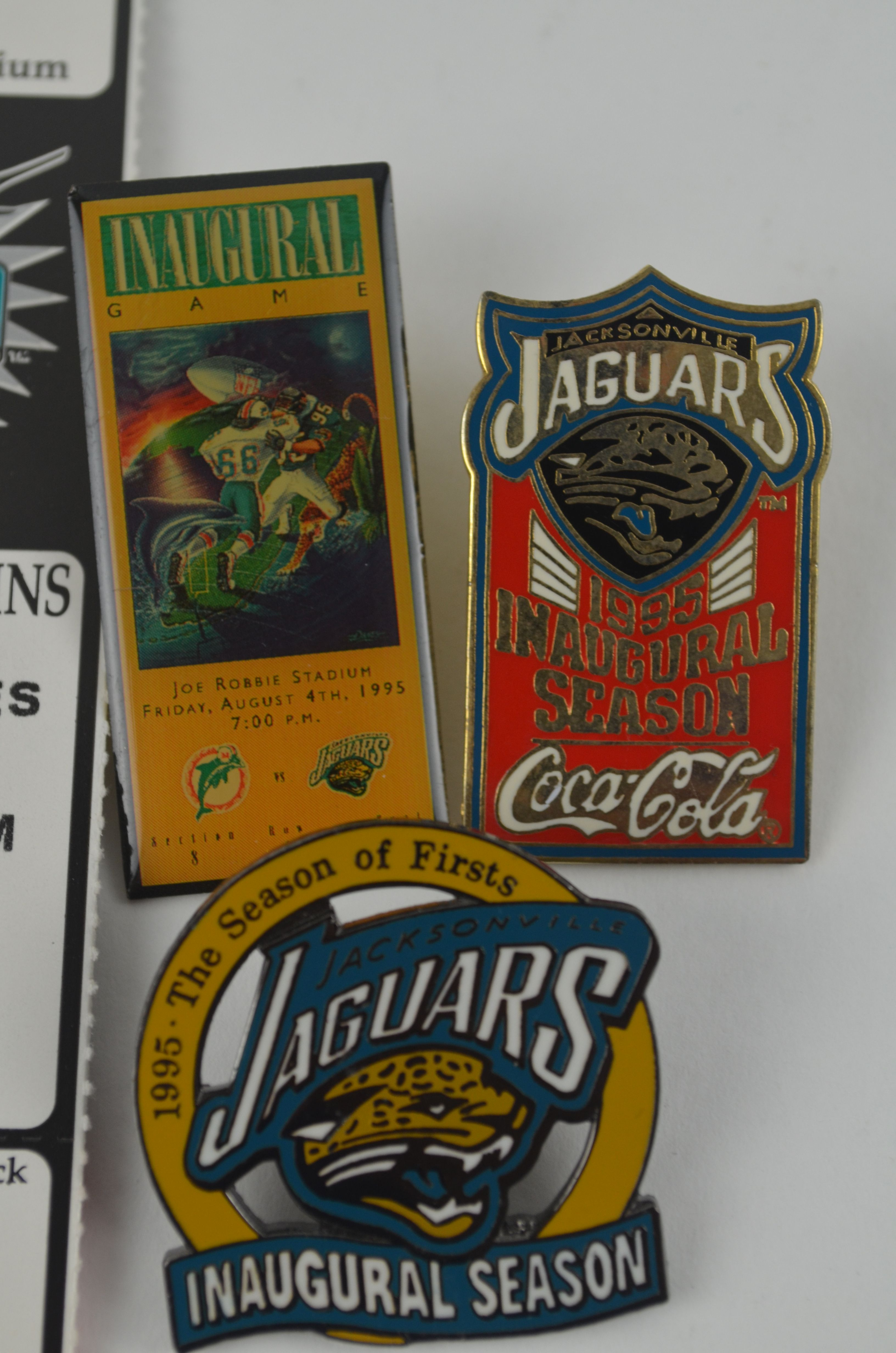 jacksonville jaguars inaugural season collection. Cars Review. Best American Auto & Cars Review