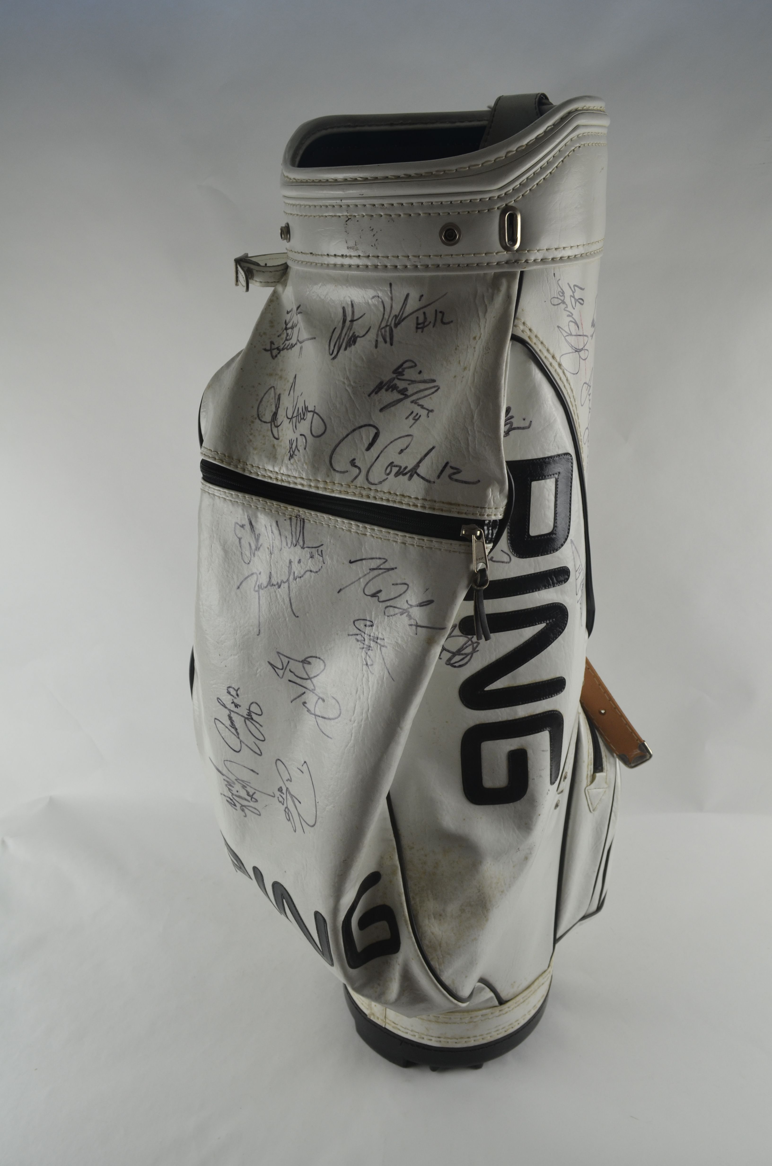 Ping Used Golf Bag From 1997 Neil Lomax Celebrity Qb Shootout
