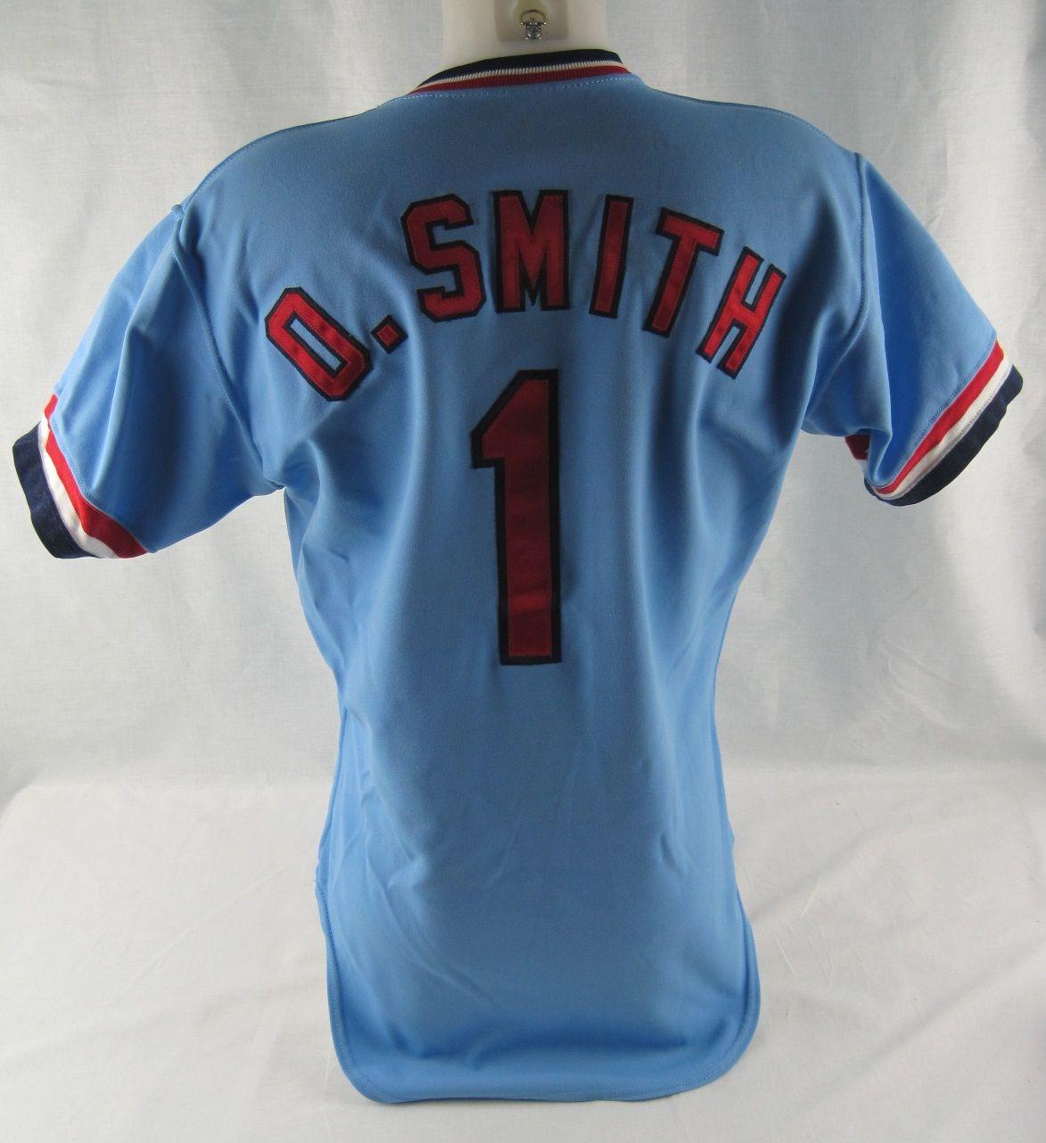 buy online d1864 59c55 Lot Detail - Ozzie Smith 1983 St. Louis Cardinals ...