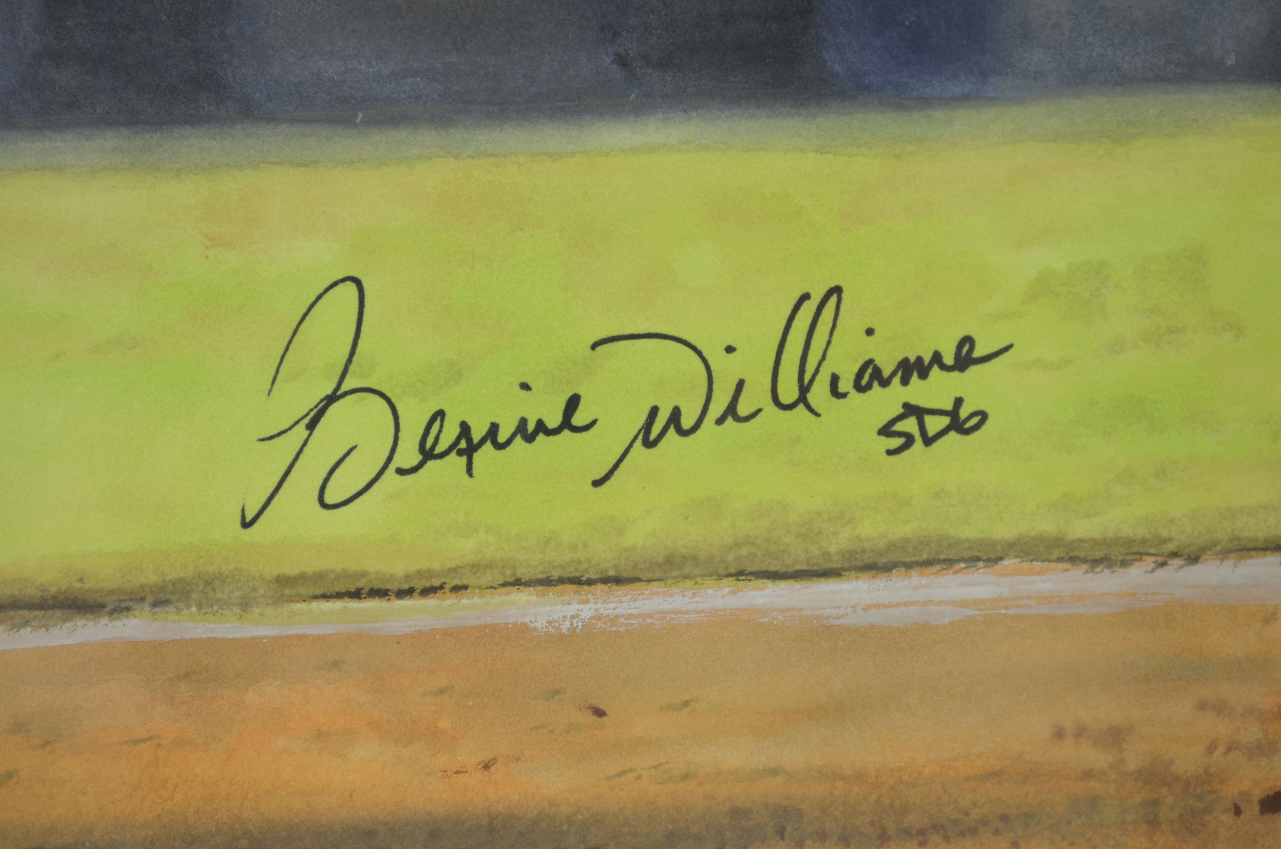 Lot Detail - Bernie Williams New York Yankees Original Painting by ...
