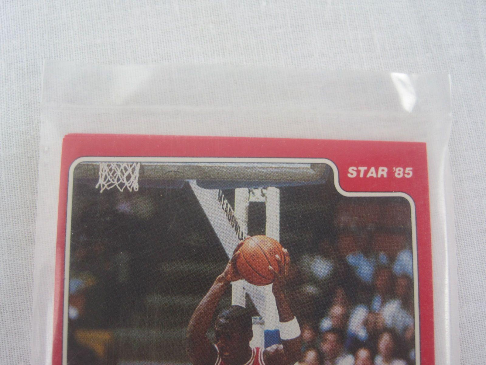 Lot Detail Michael Jordan 1984 85 Rookie Card 101 W