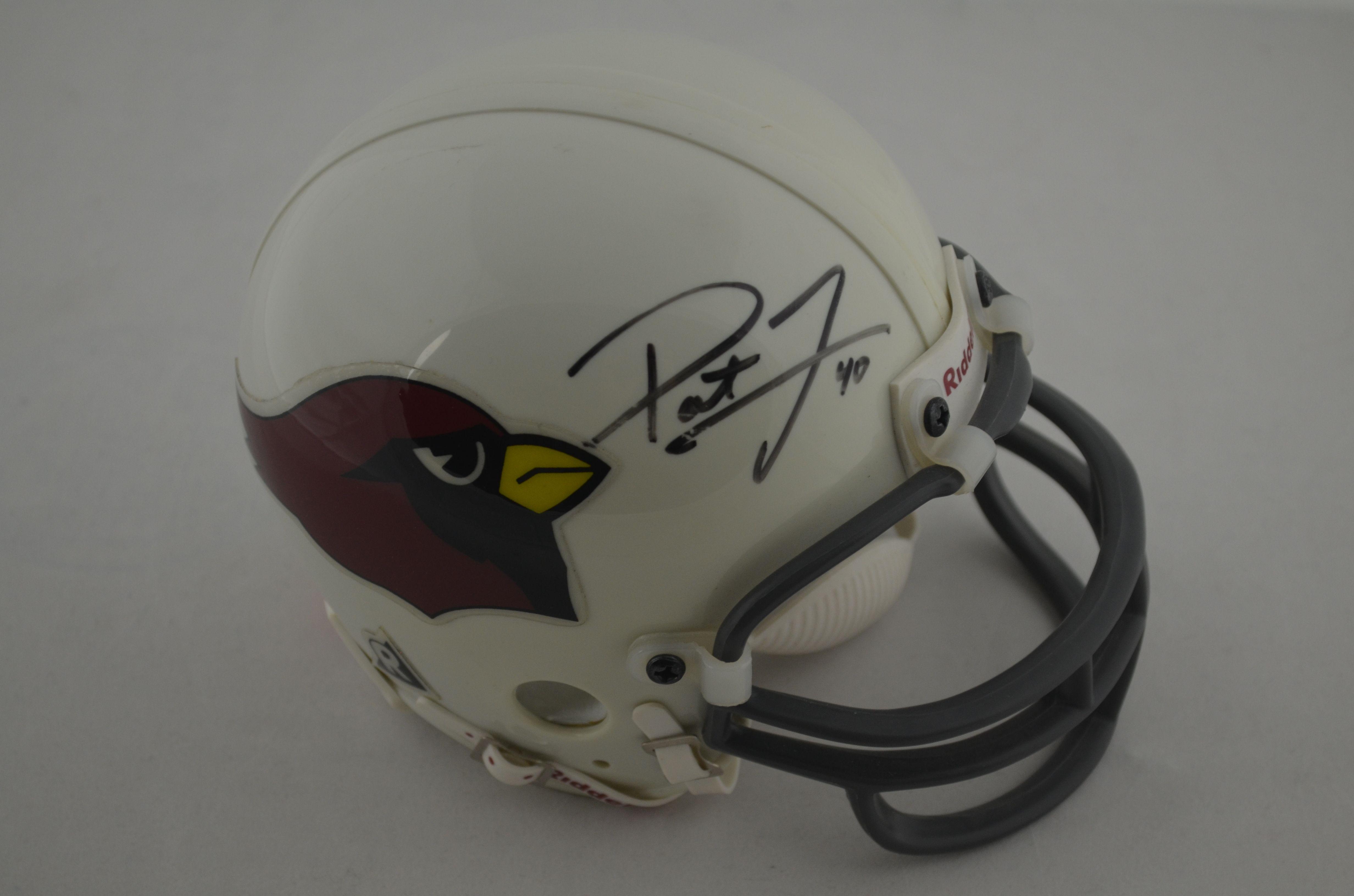 the best attitude 2cd3a f534b Lot Detail - Pat Tillman Arizona Cardinals Autographed Mini ...