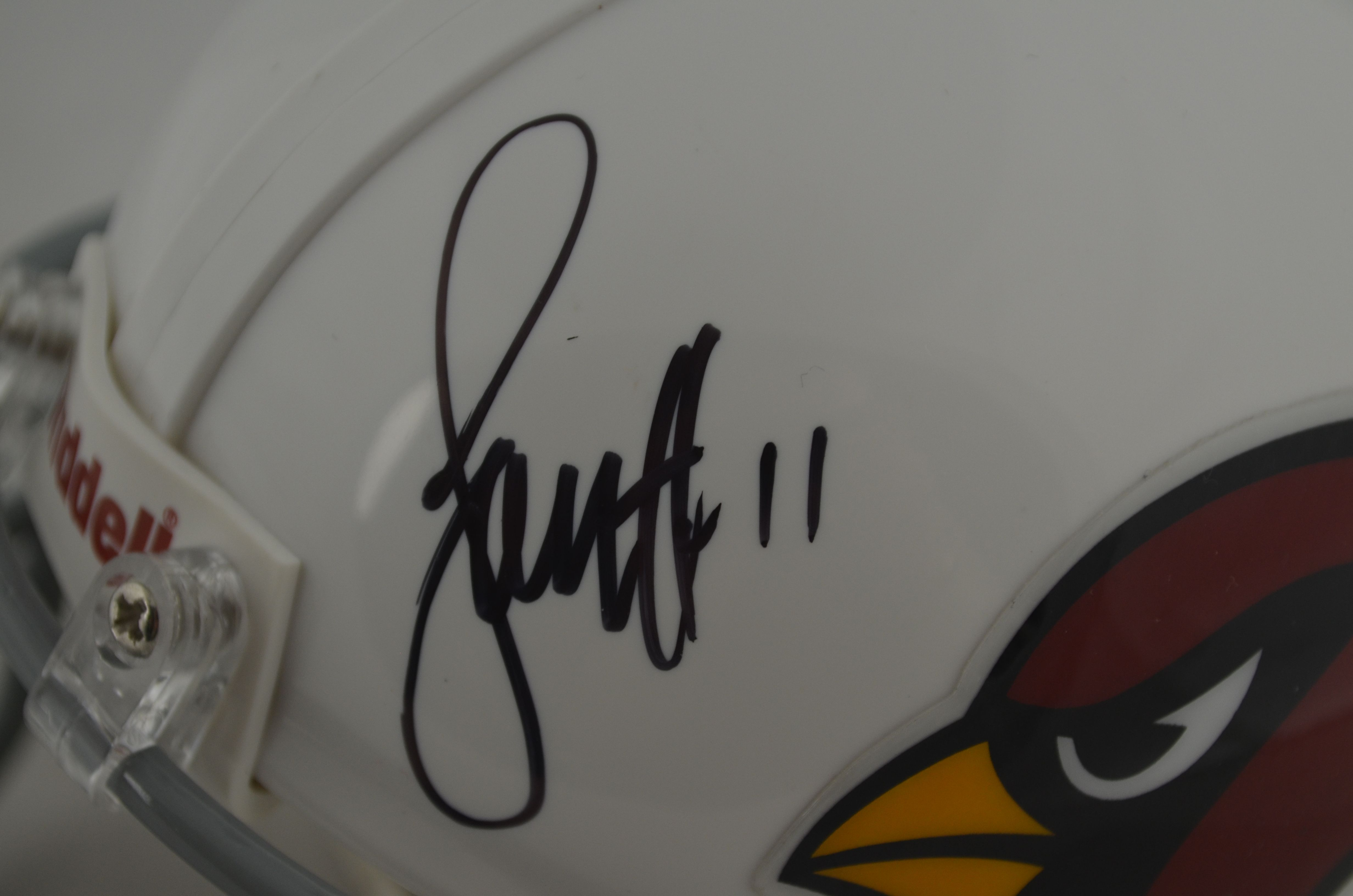 how to get larry fitzgerald autograph