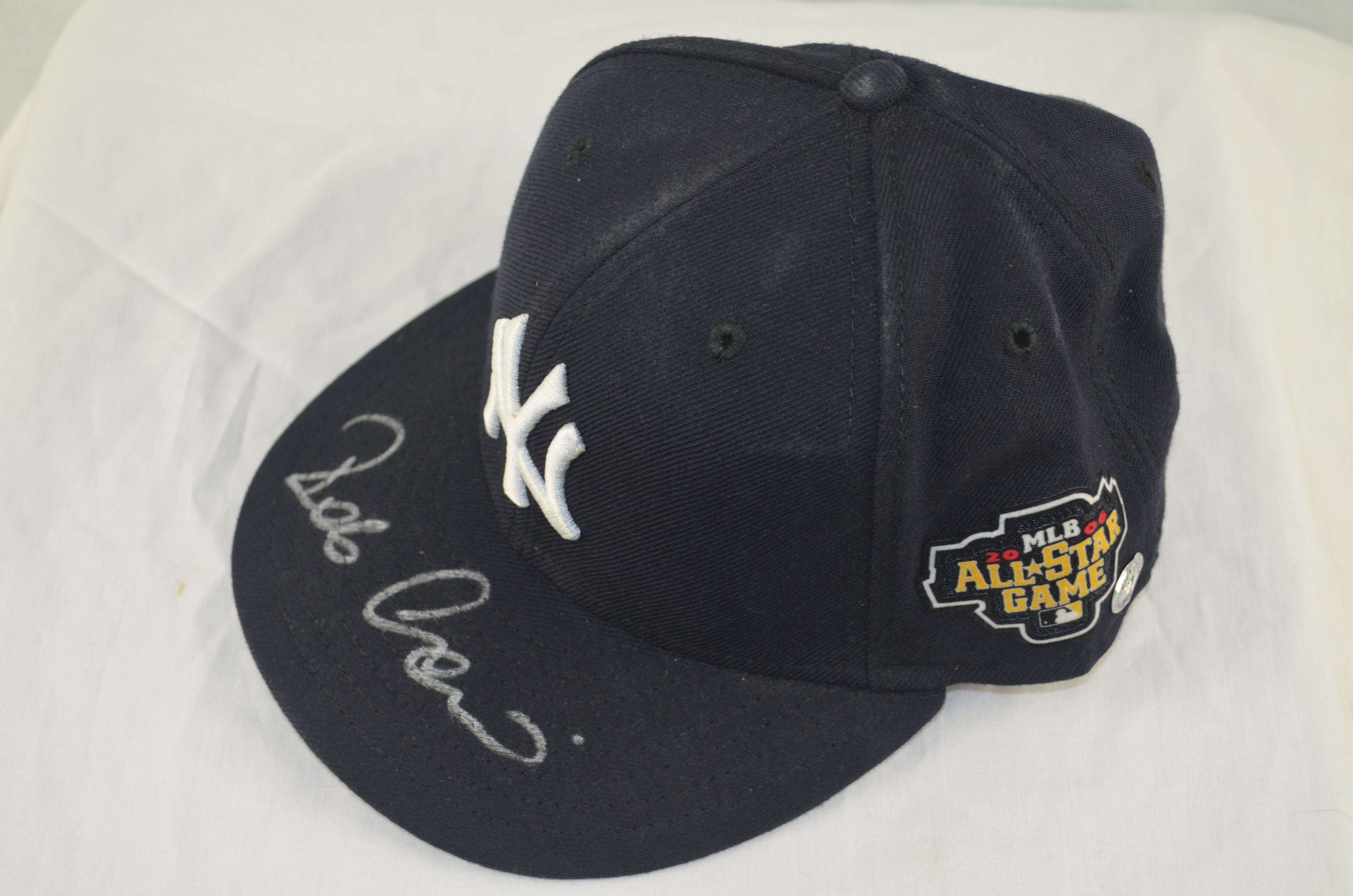 Robinson Cano Autographed 2006 New York Yankees All Star Game Hat ... aa0e224784e