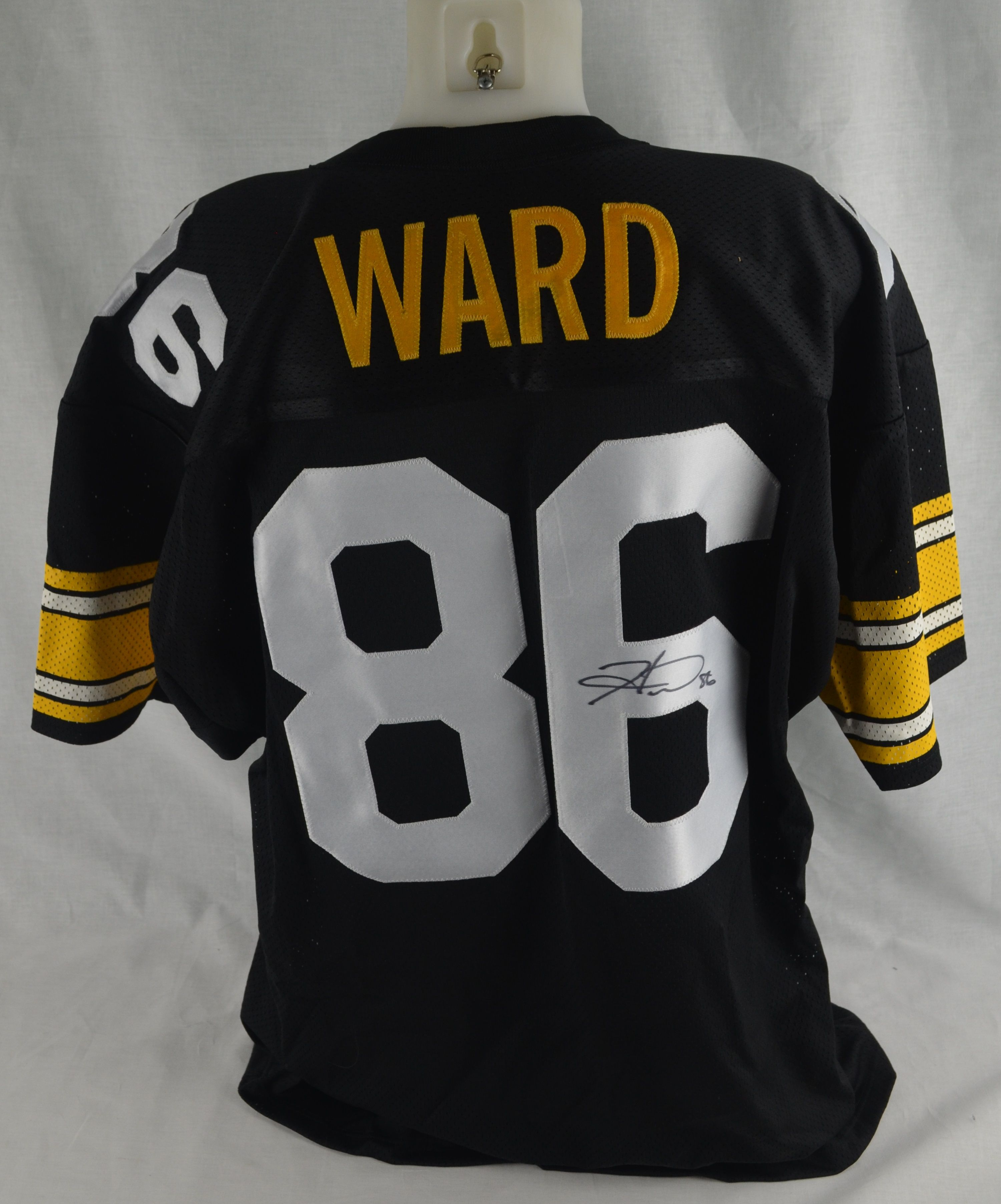 Lot Detail - Hines Ward Autographed Pittsburgh Steelers Jersey