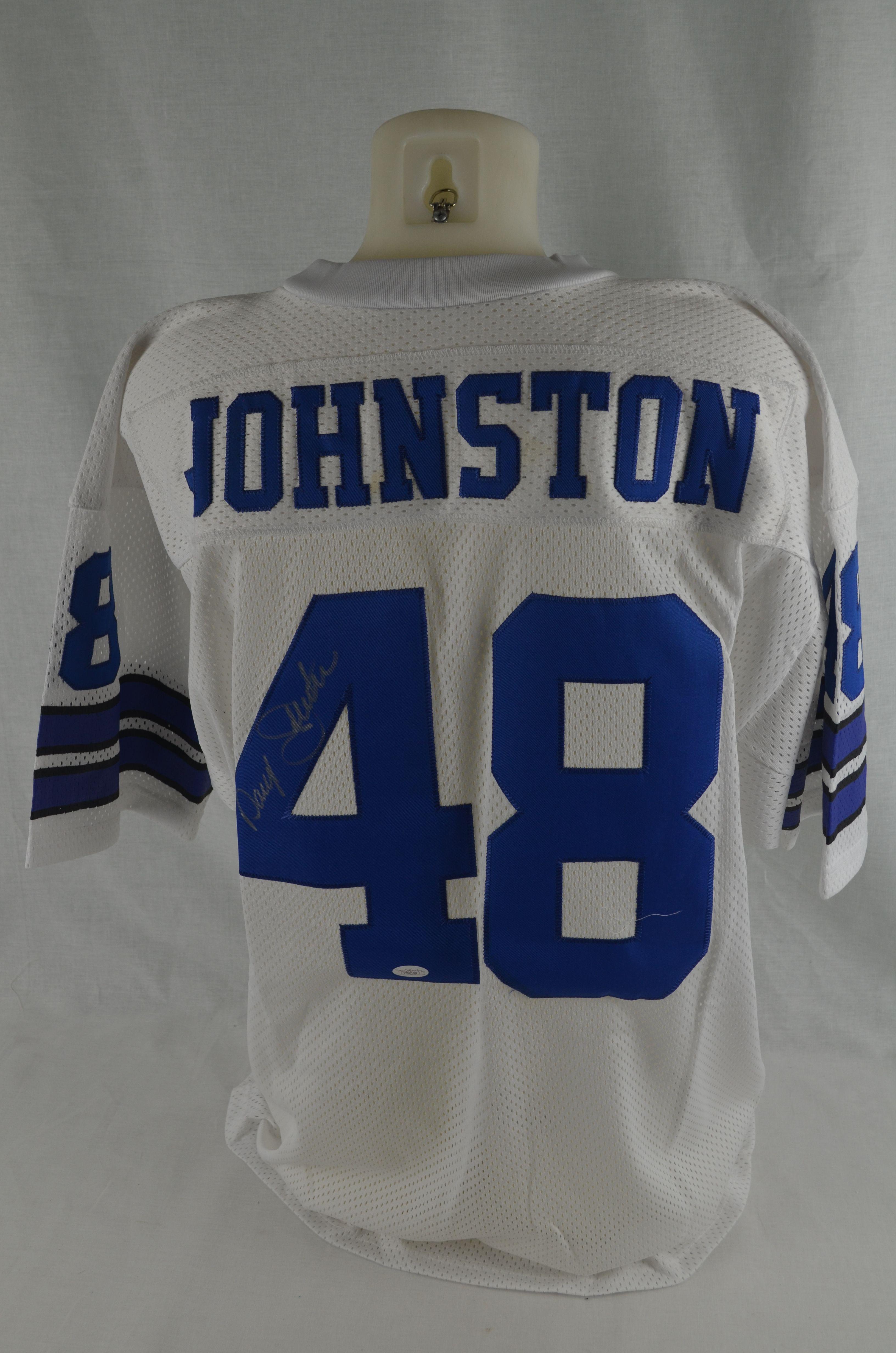 quality design 88a01 2490b Lot Detail - Darryl Moose Johnston Autographed Dallas ...