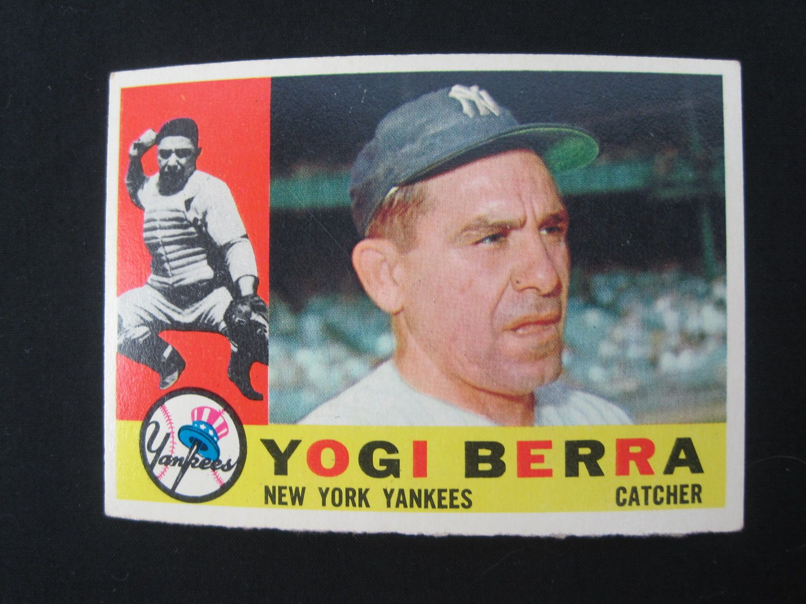 Lot Detail Yogi Berra Lot Of 4 Baseball Cards
