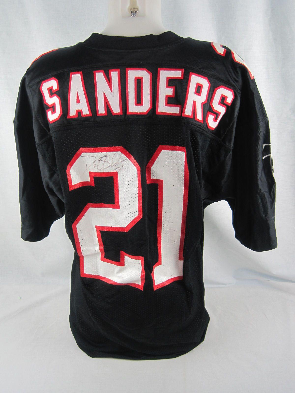 new concept 16f08 f3496 Lot Detail - Deion Sanders 1992 Atlanta Falcons Professional ...