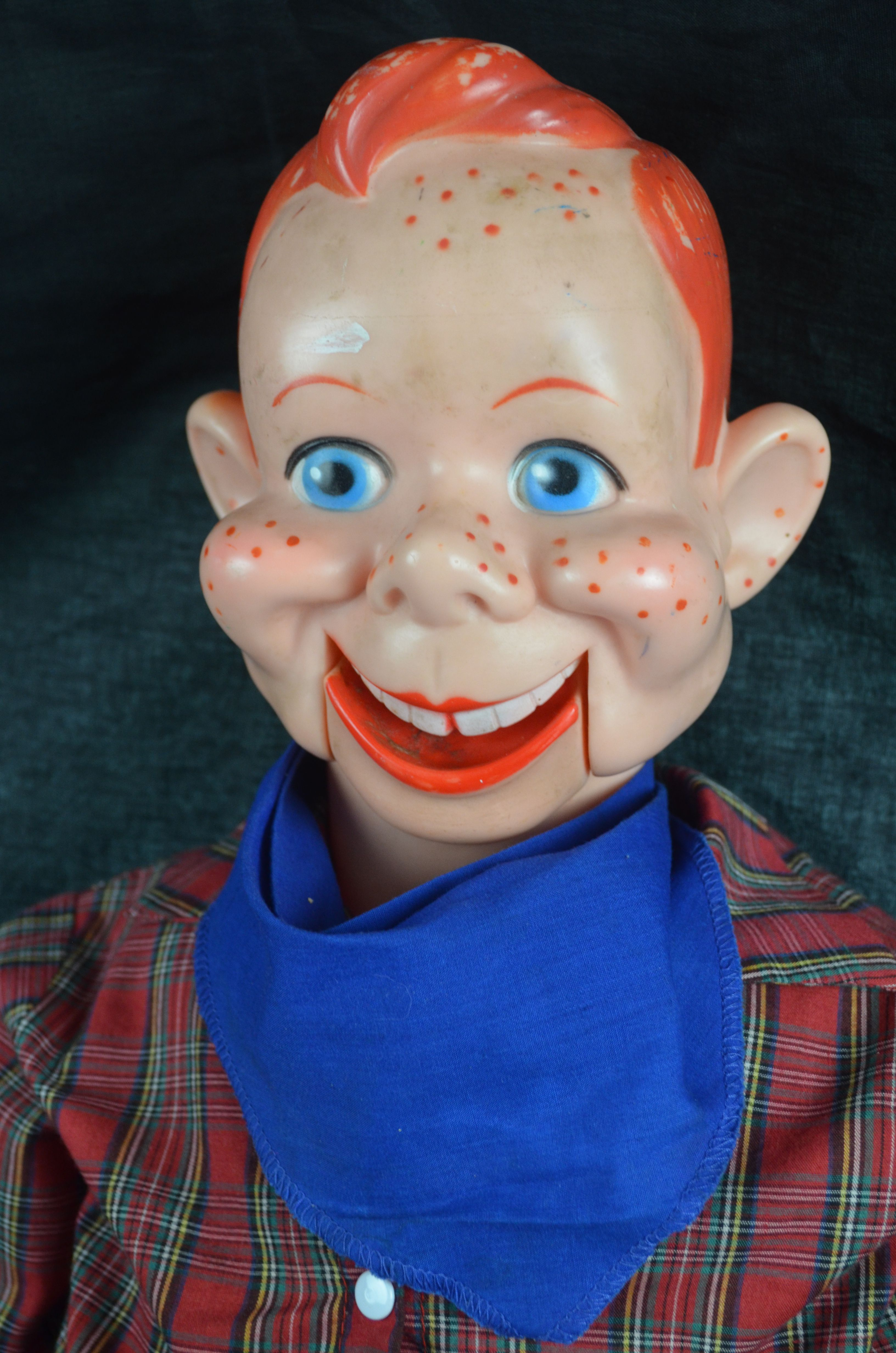 lot detail vintage howdy doody talking doll