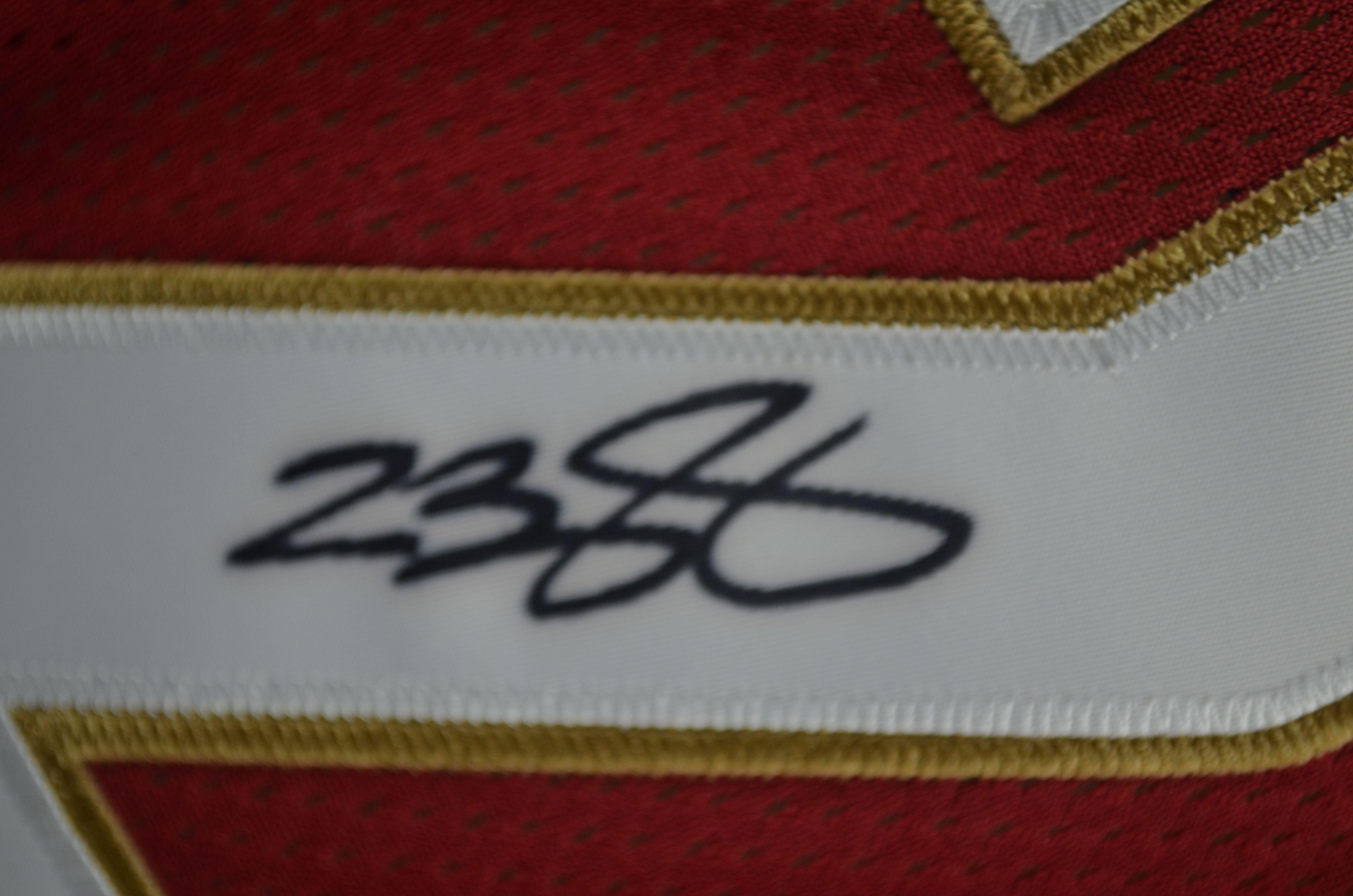 newest 335c3 6e0e2 Lot Detail - LeBron James Cleveland Cavaliers Autographed ...