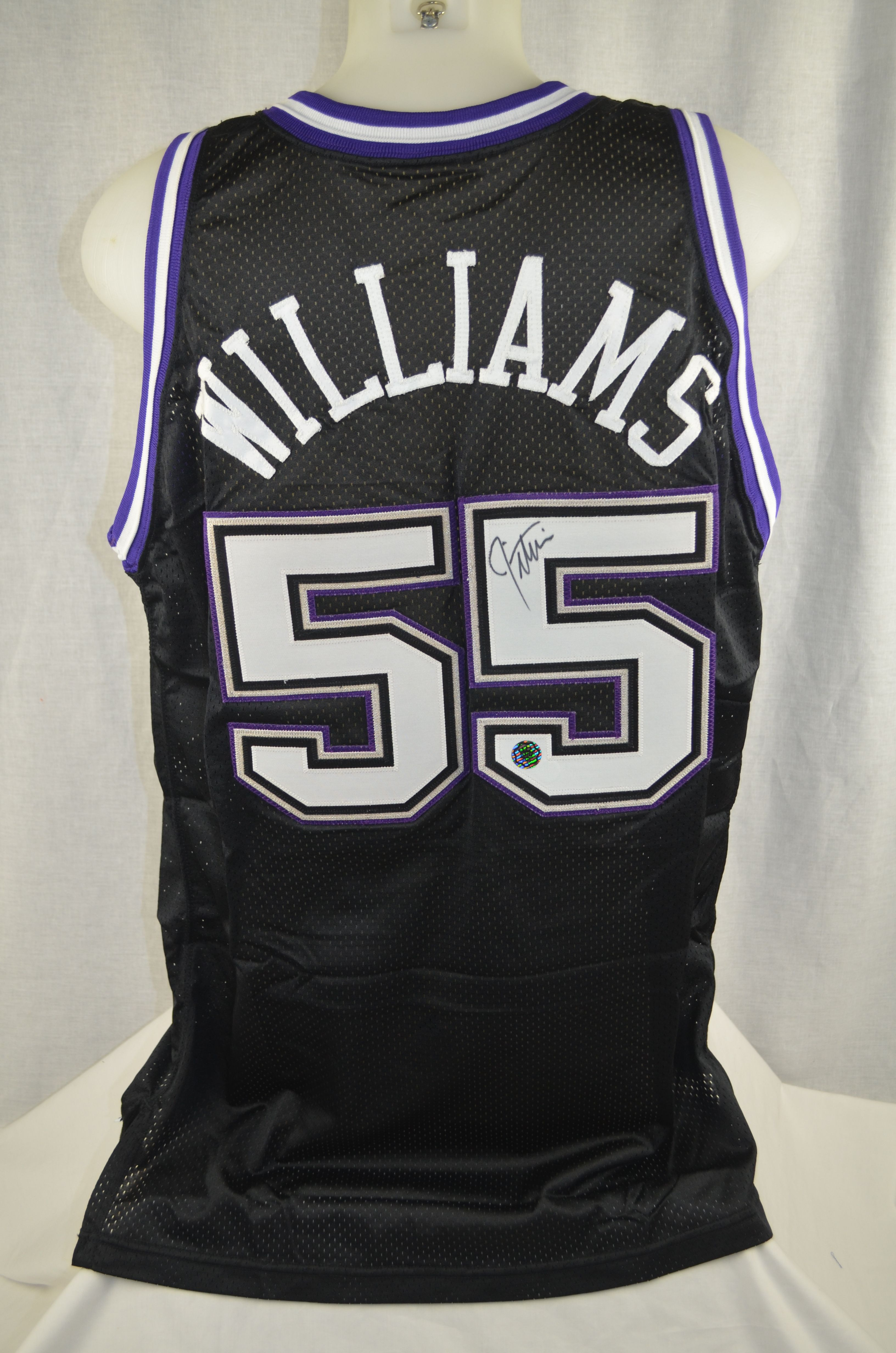 3584cfb27 Jason Williams 1998-99 Sacramento Kings Professional Model Jersey w Light  Use ...