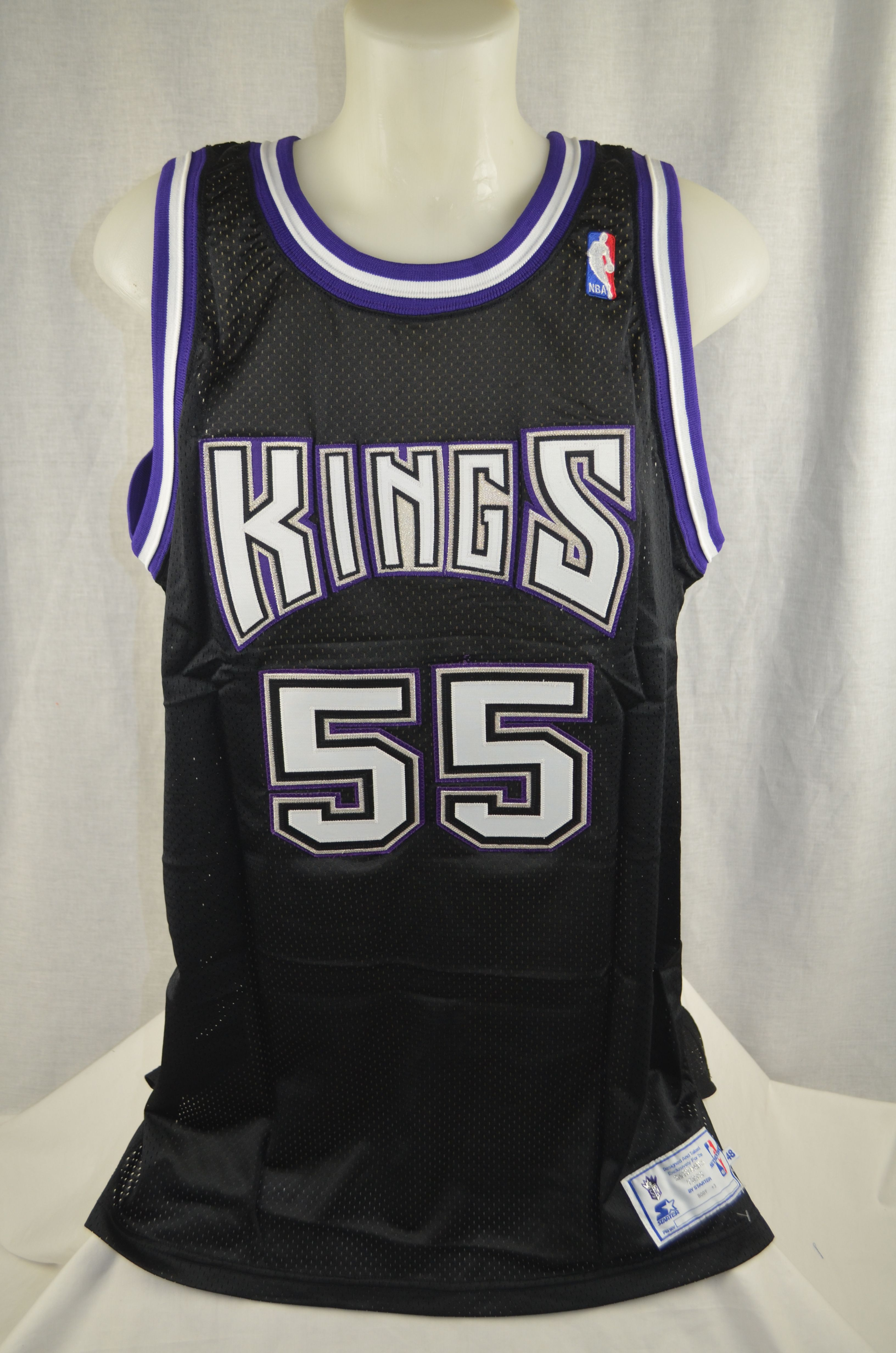 1d9b8bd15 ... Jason Williams 1998-99 Sacramento Kings Professional Model Jersey w Light  Use ...