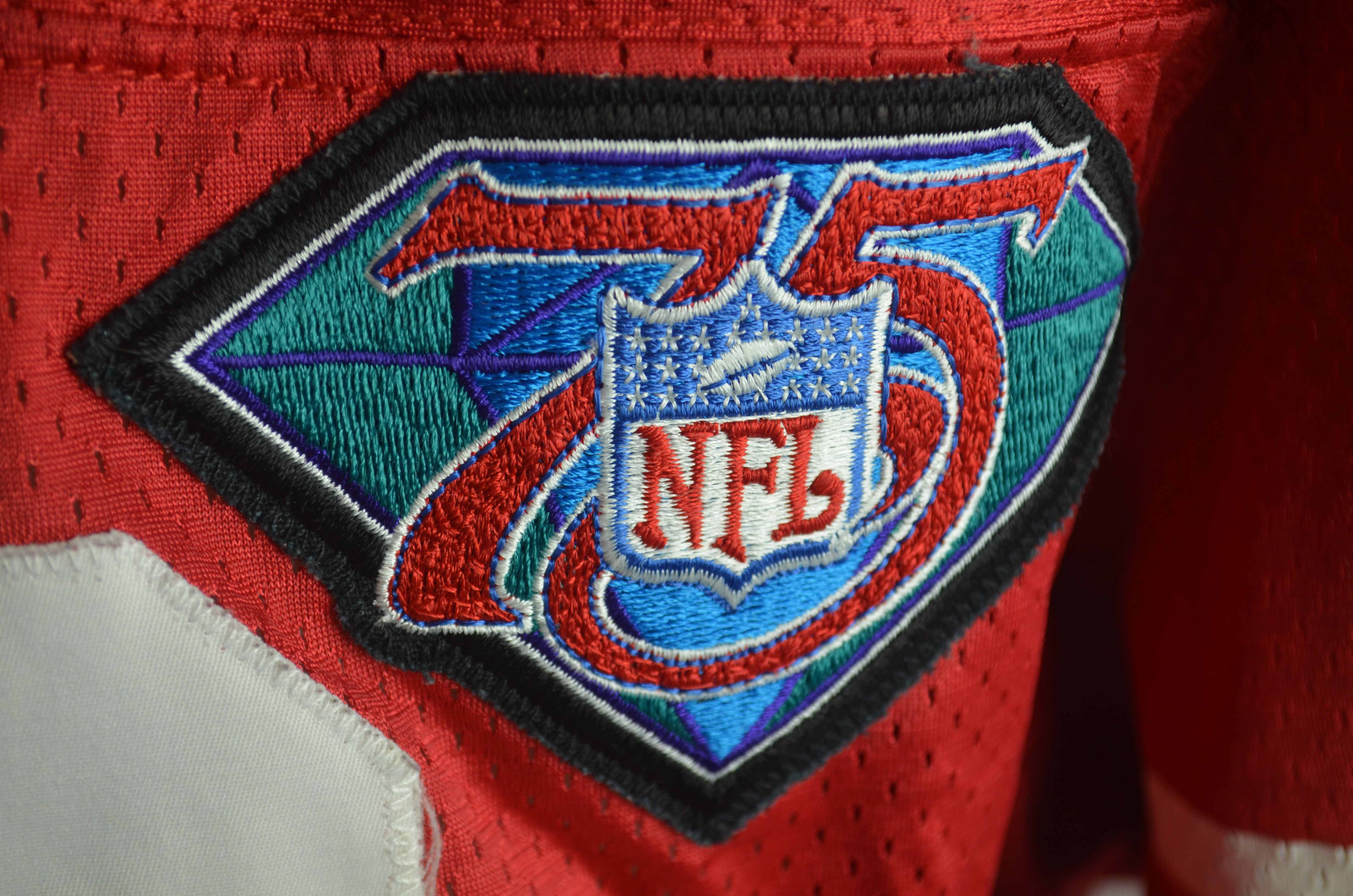 buy popular 9fa01 db345 jerry-rice-75th-anniversary-jersey