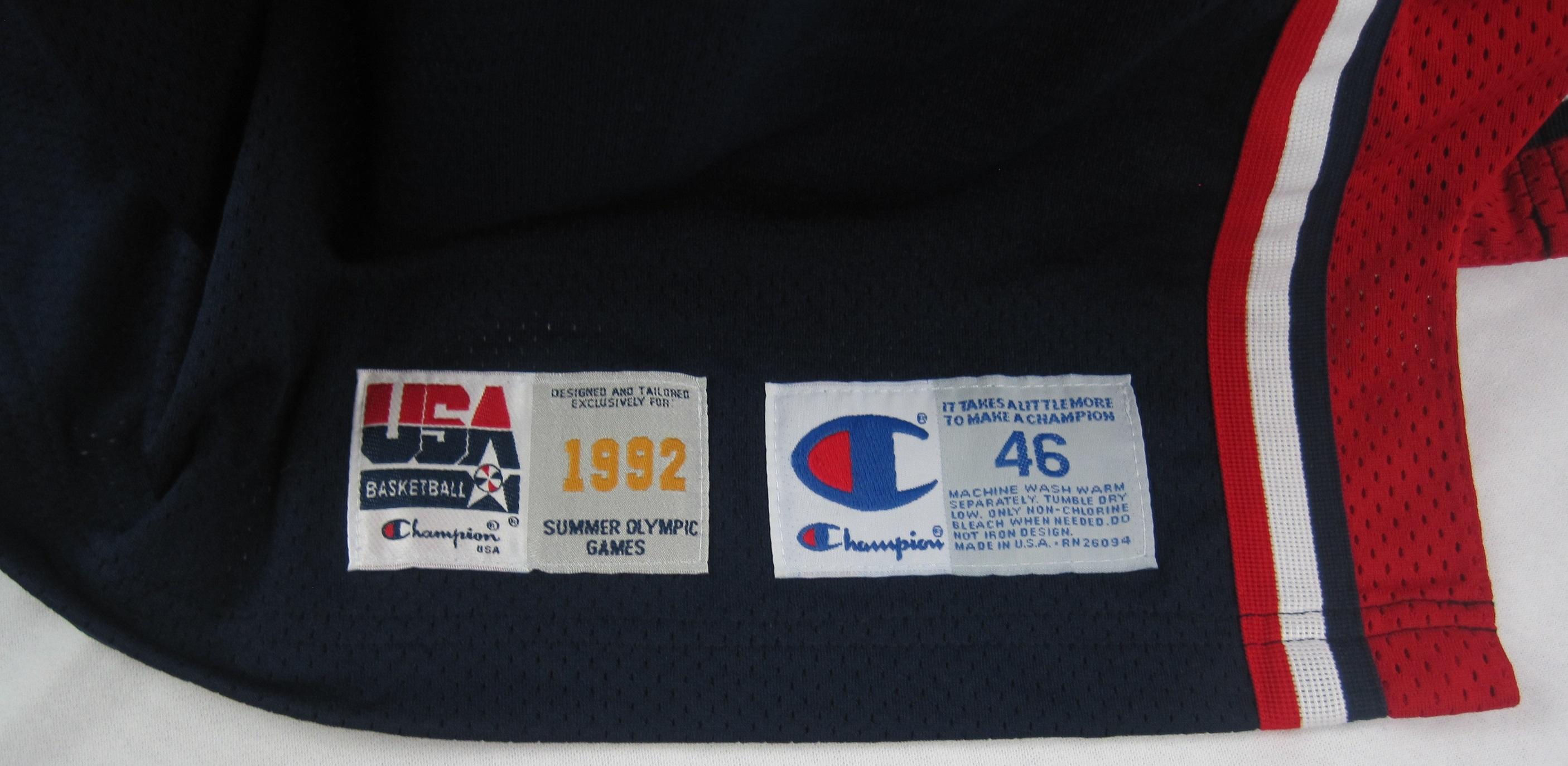 best website d61d4 8138e Lot Detail - Michael Jordan 1992 U.S.A. Dream Team I ...