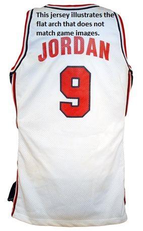 tfczqa Lot Detail - Michael Jordan 1992 U.S.A. Dream Team I Professional