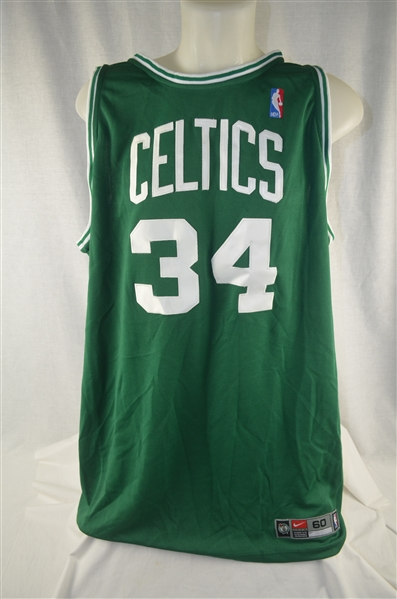 buy online 6b9b8 1f0ec Lot Detail - Paul Pierce Boston Celtics Authentic Nike ...