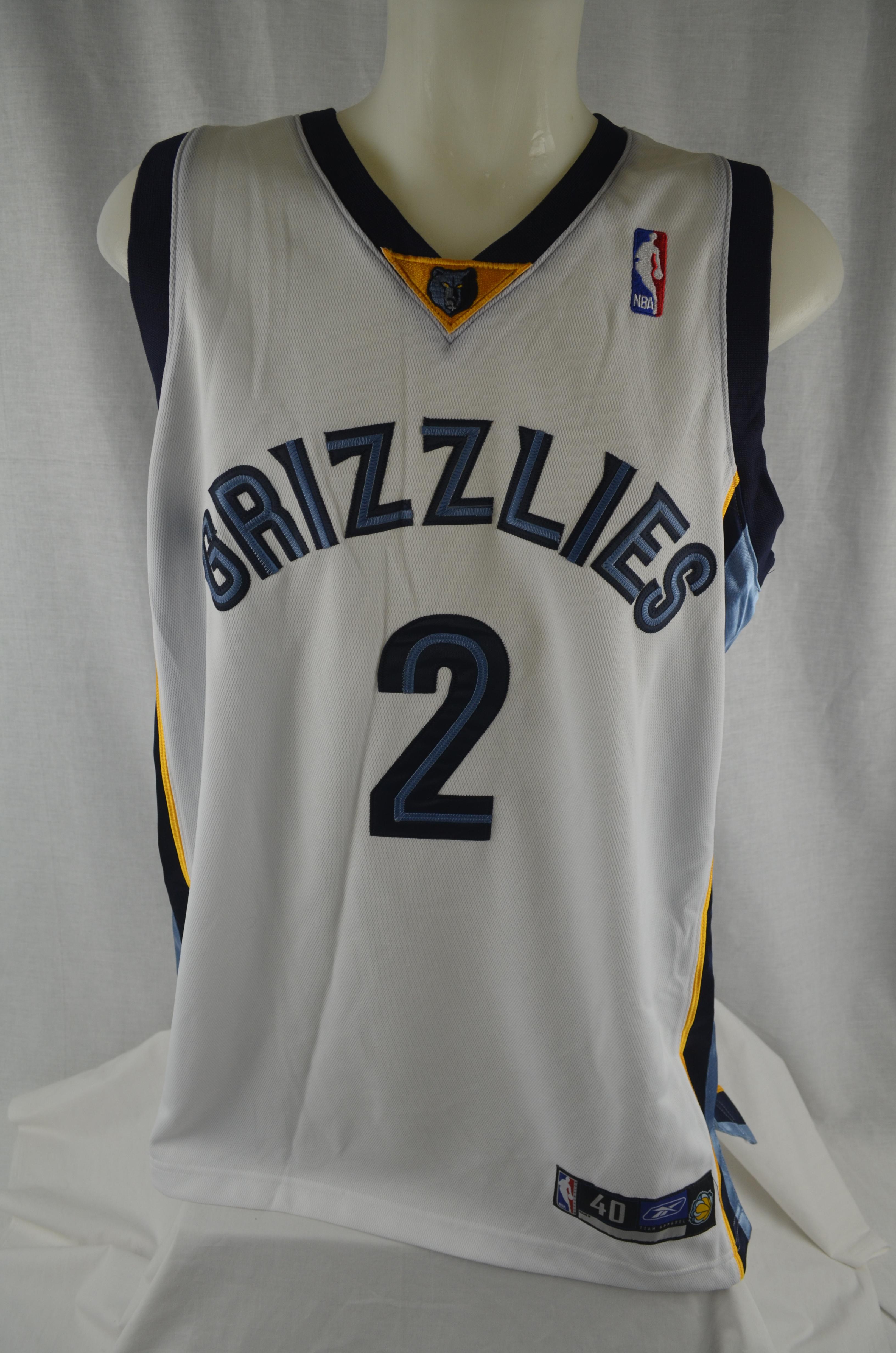 c1f6c5572 ... Jason Williams Memphis Grizzlies Authentic Reebok Basketball Jersey ...