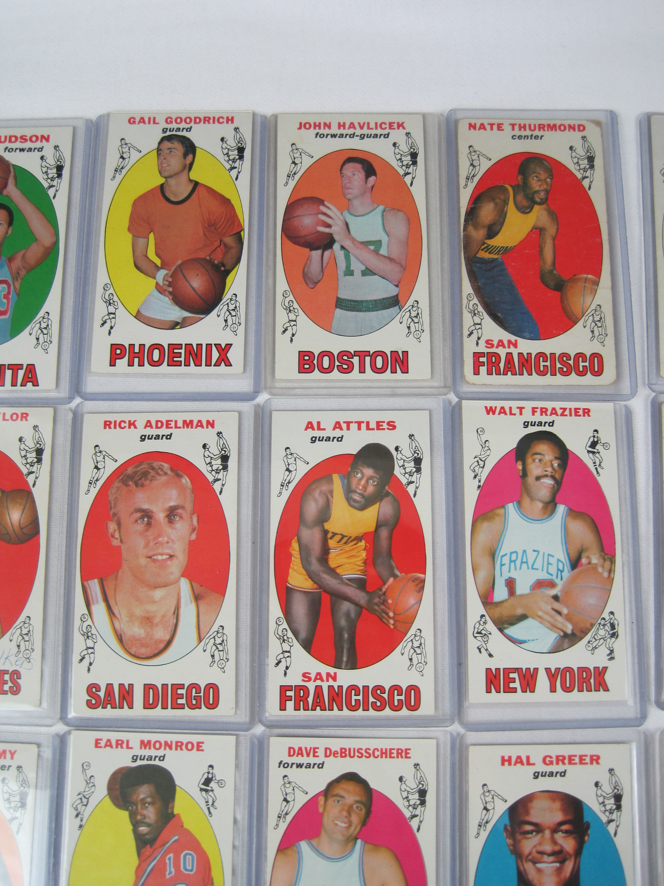 Lot Detail 1969 70 Topps Basketball Near Complete Set Wlew