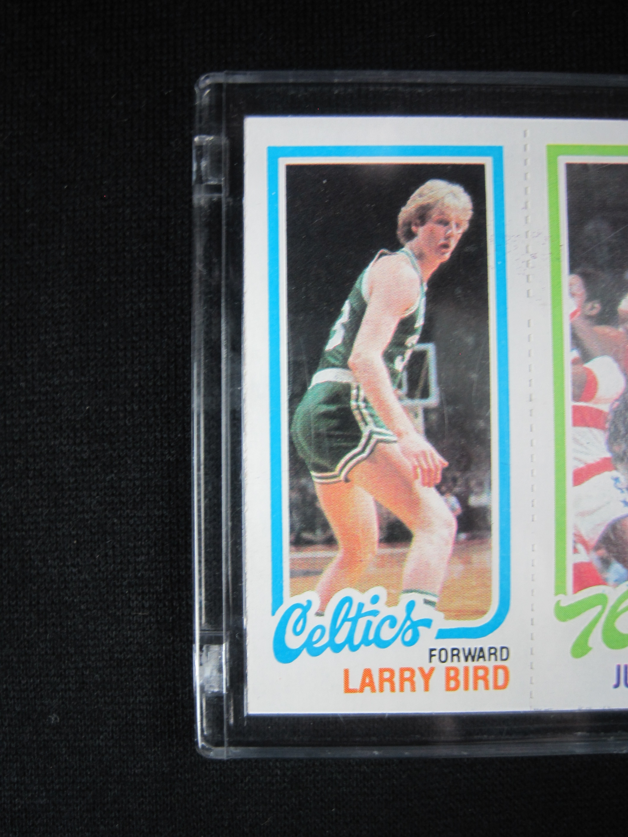 Lot Detail Larry Bird Magic Johnson Julius Erving 1980 81