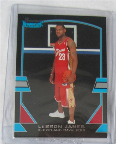 LeBron James 2003 Collection Of 15 Rookie