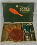 Vintage Tournament Table Tennis Game by Milton Bradley