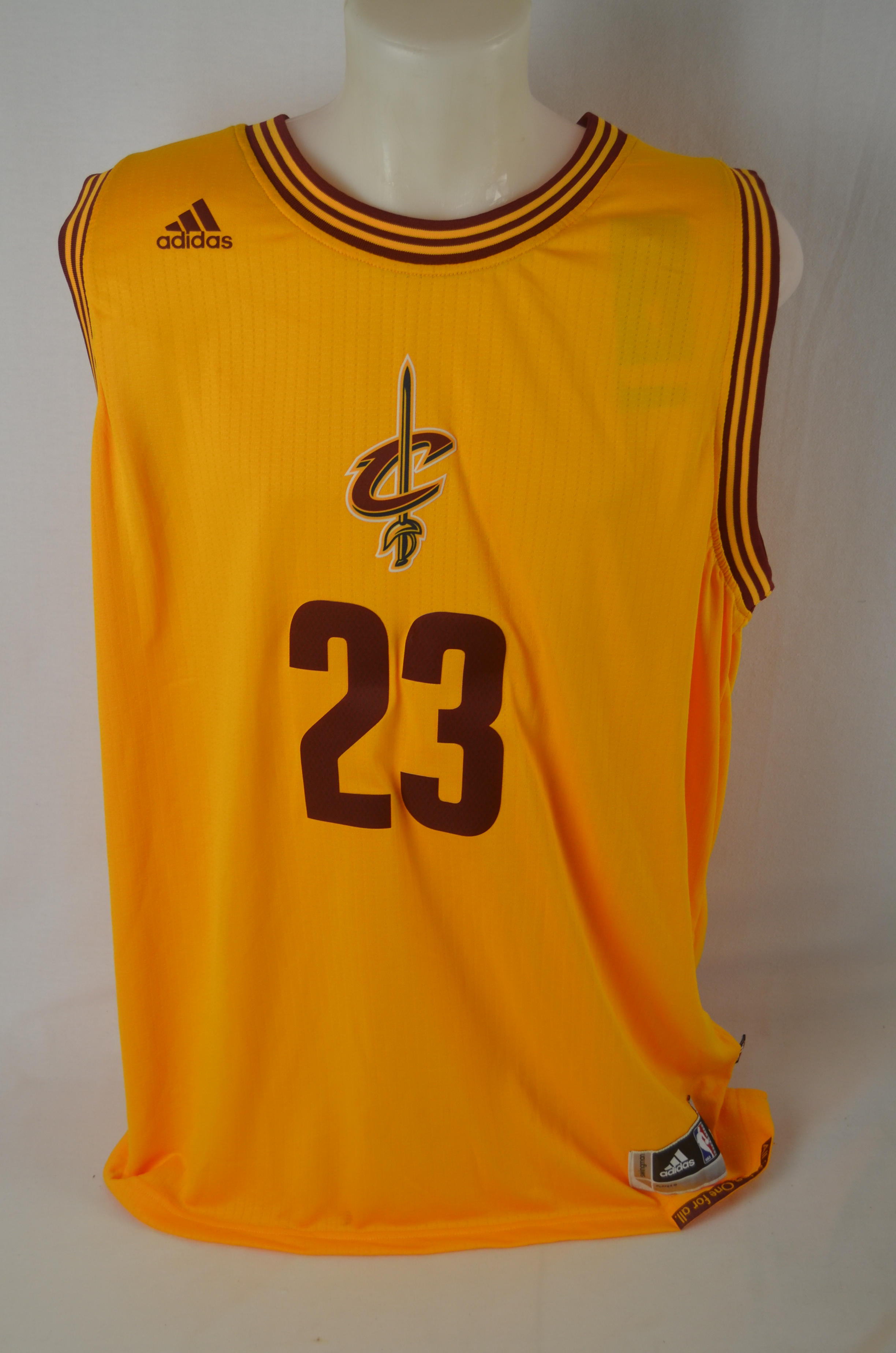841ef709a ... LeBron James Autographed 2014 Cleveland Cavaliers LE Christmas Jersey  UDA